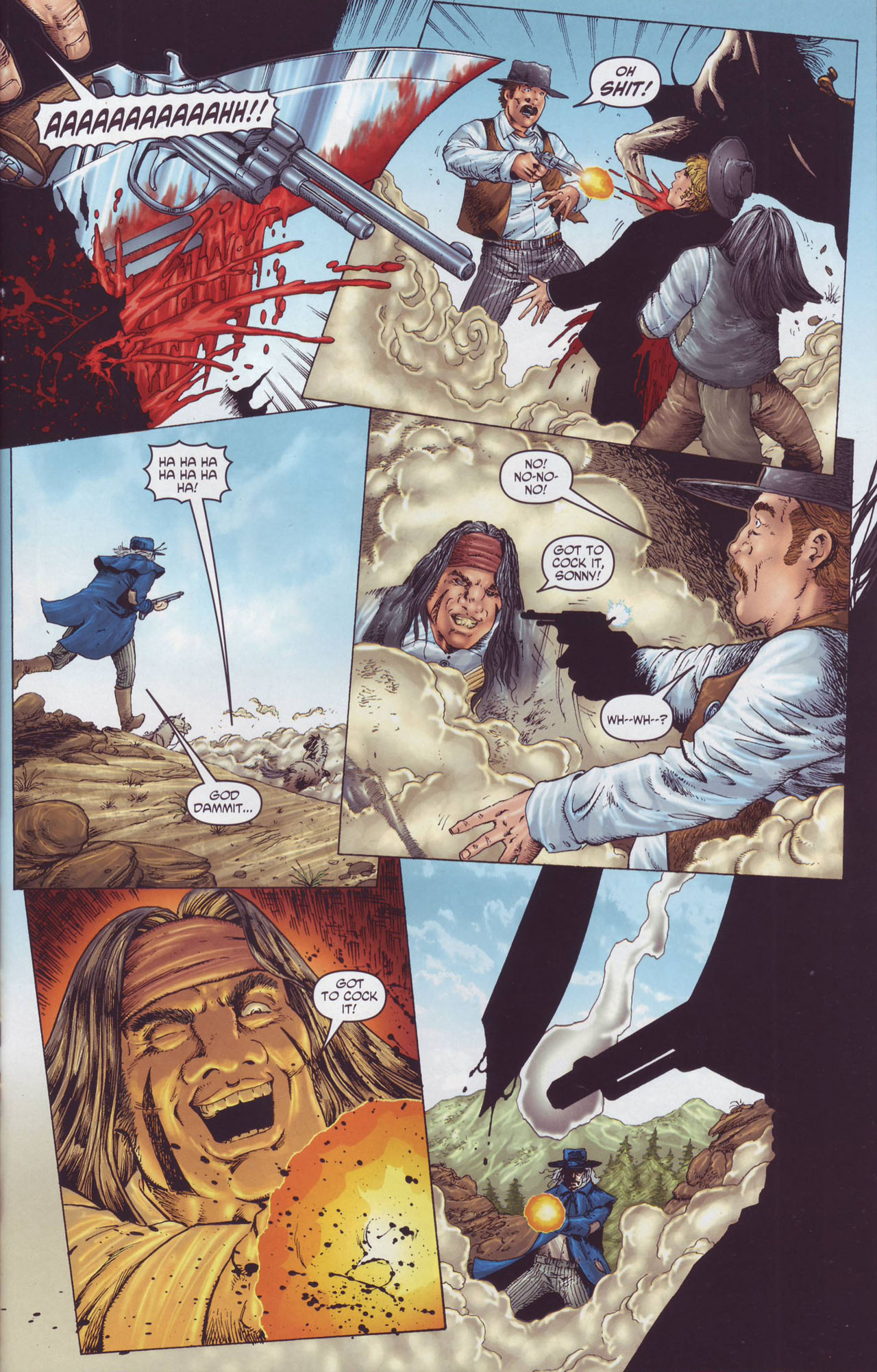 Read online Garth Ennis' Streets of Glory comic -  Issue #4 - 7