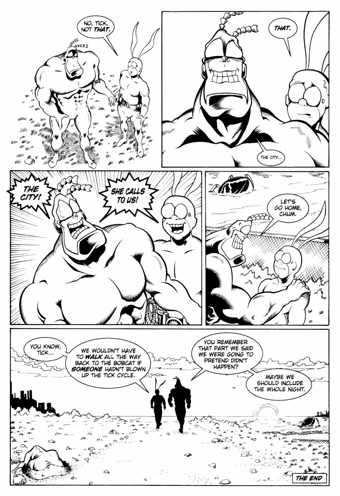 Read online The Tick comic -  Issue #13 - 25