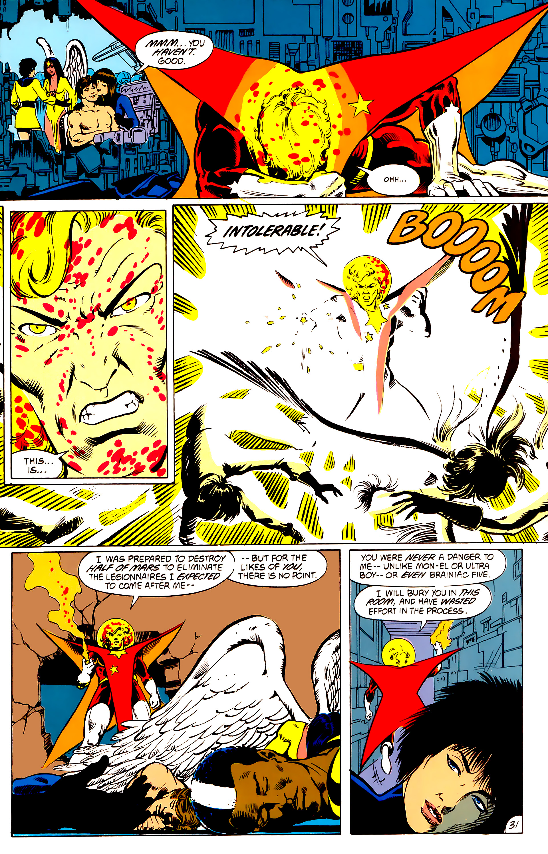 Legion of Super-Heroes (1984) _Annual_4 Page 31