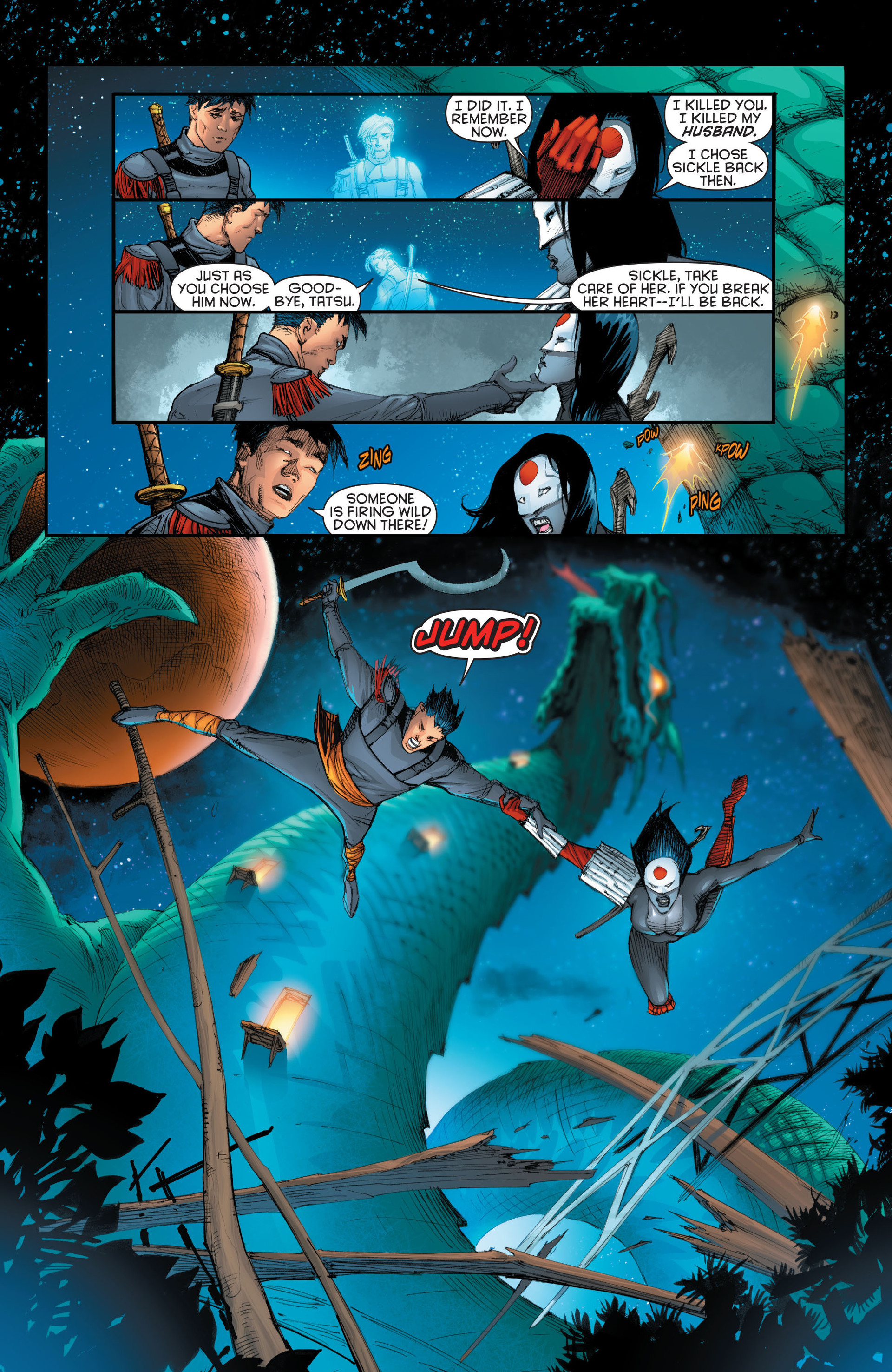 Read online Katana comic -  Issue #7 - 18