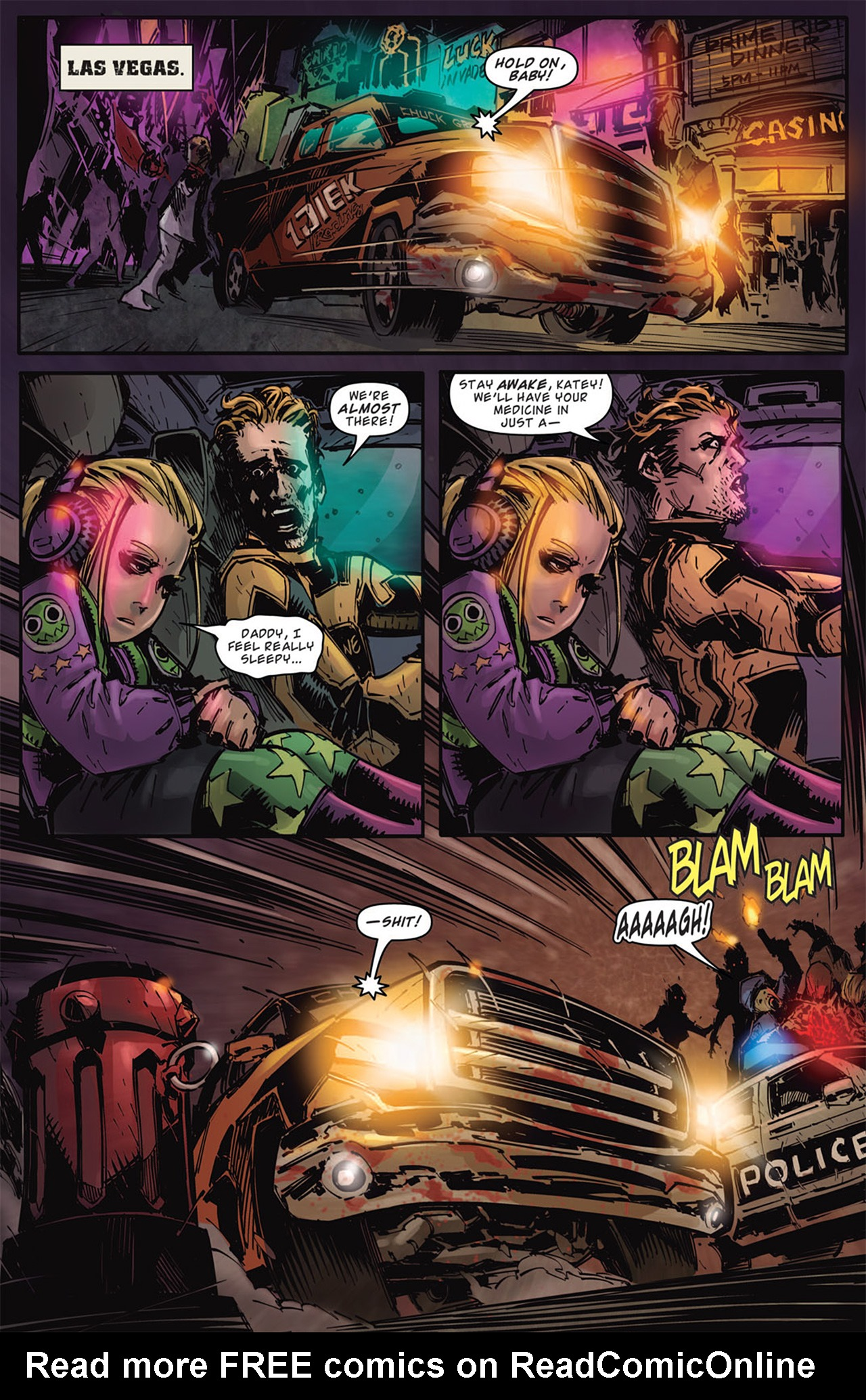 Read online Dead Rising: Road to Fortune comic -  Issue # TPB - 82