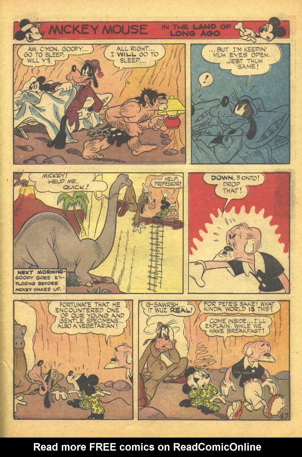 Walt Disney's Comics and Stories issue 41 - Page 49
