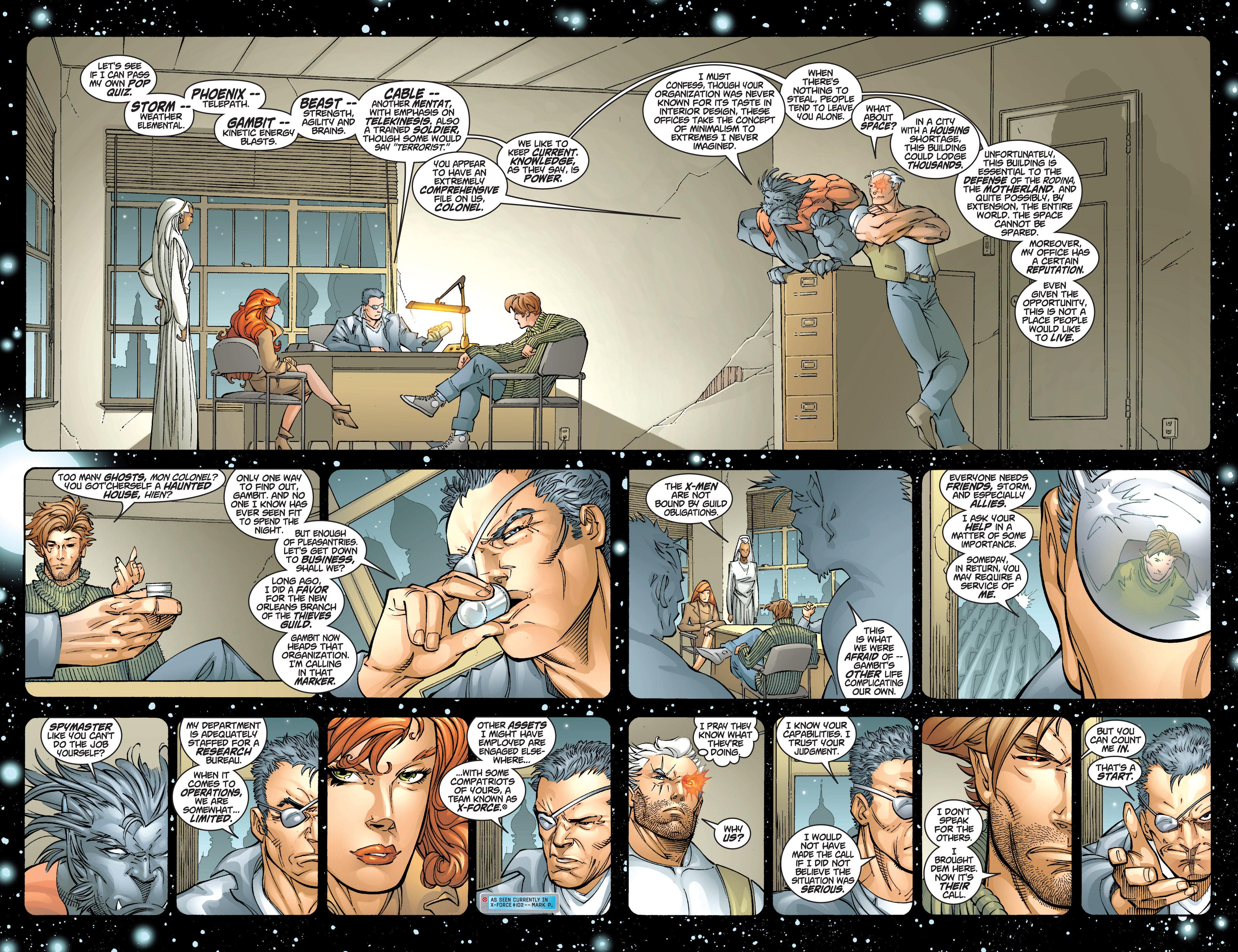 Read online Uncanny X-Men (1963) comic -  Issue #383 - 6
