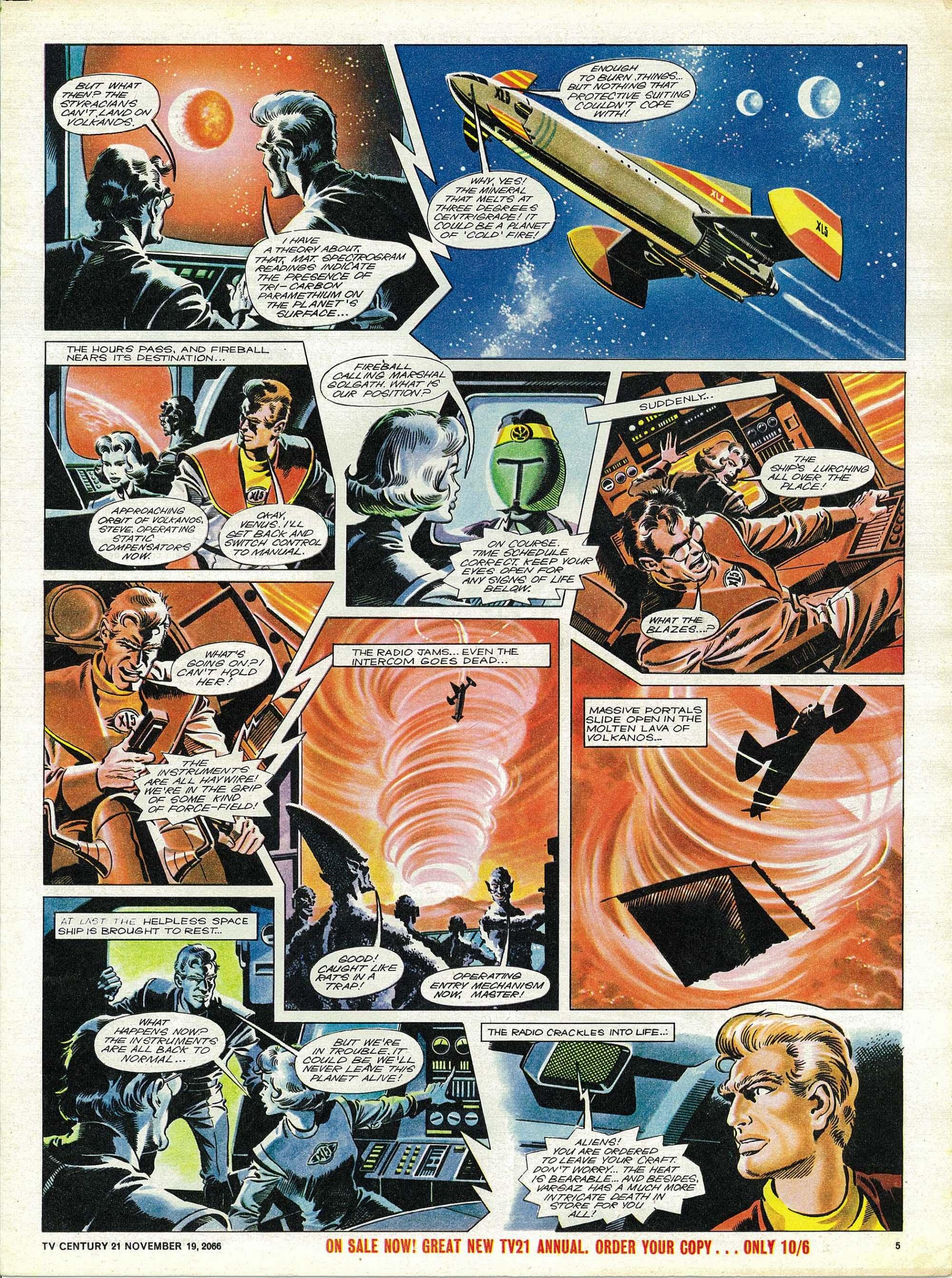 Read online TV Century 21 (TV 21) comic -  Issue #96 - 5