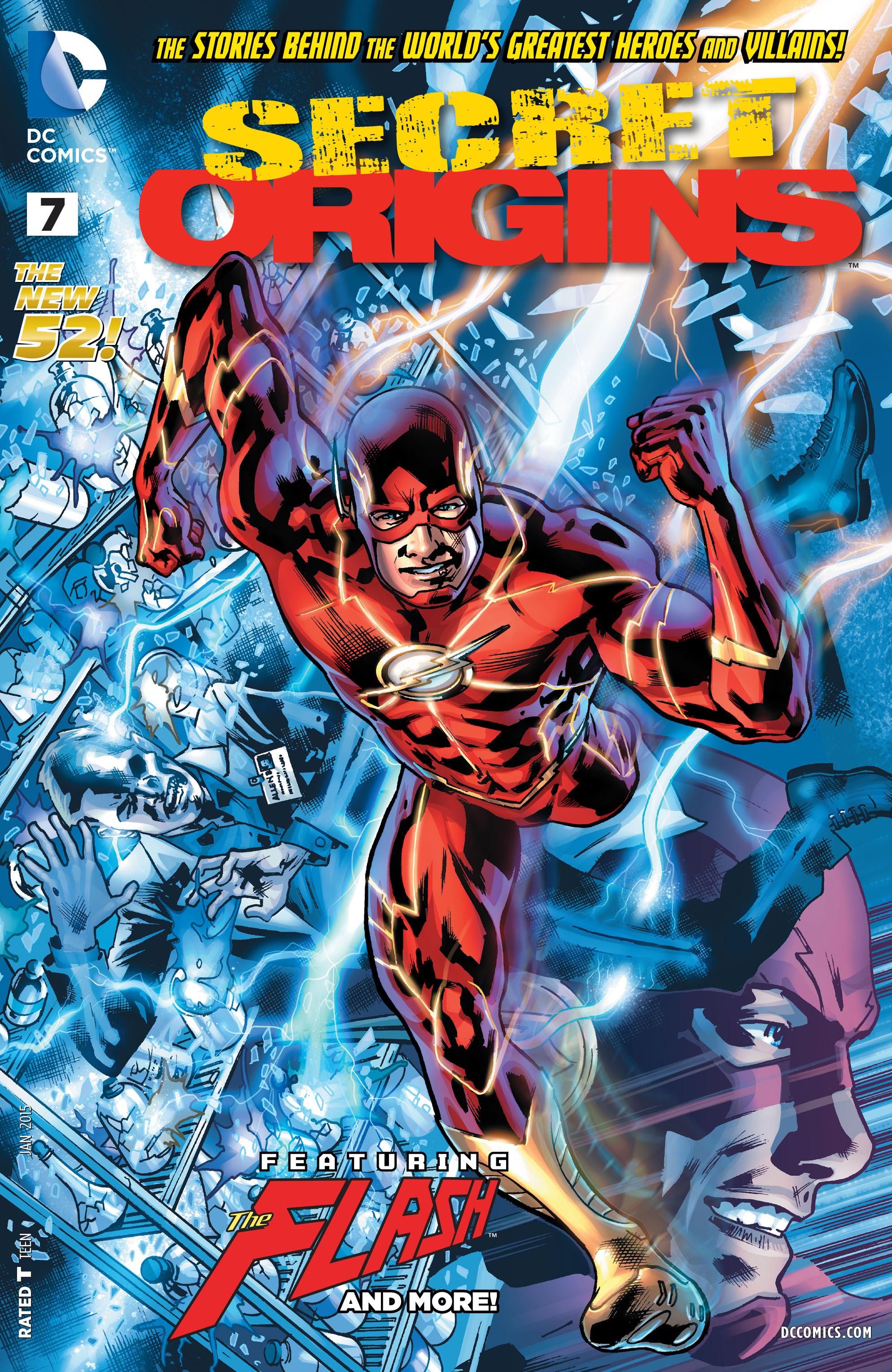 Read online Secret Origins (2014) comic -  Issue #7 - 1