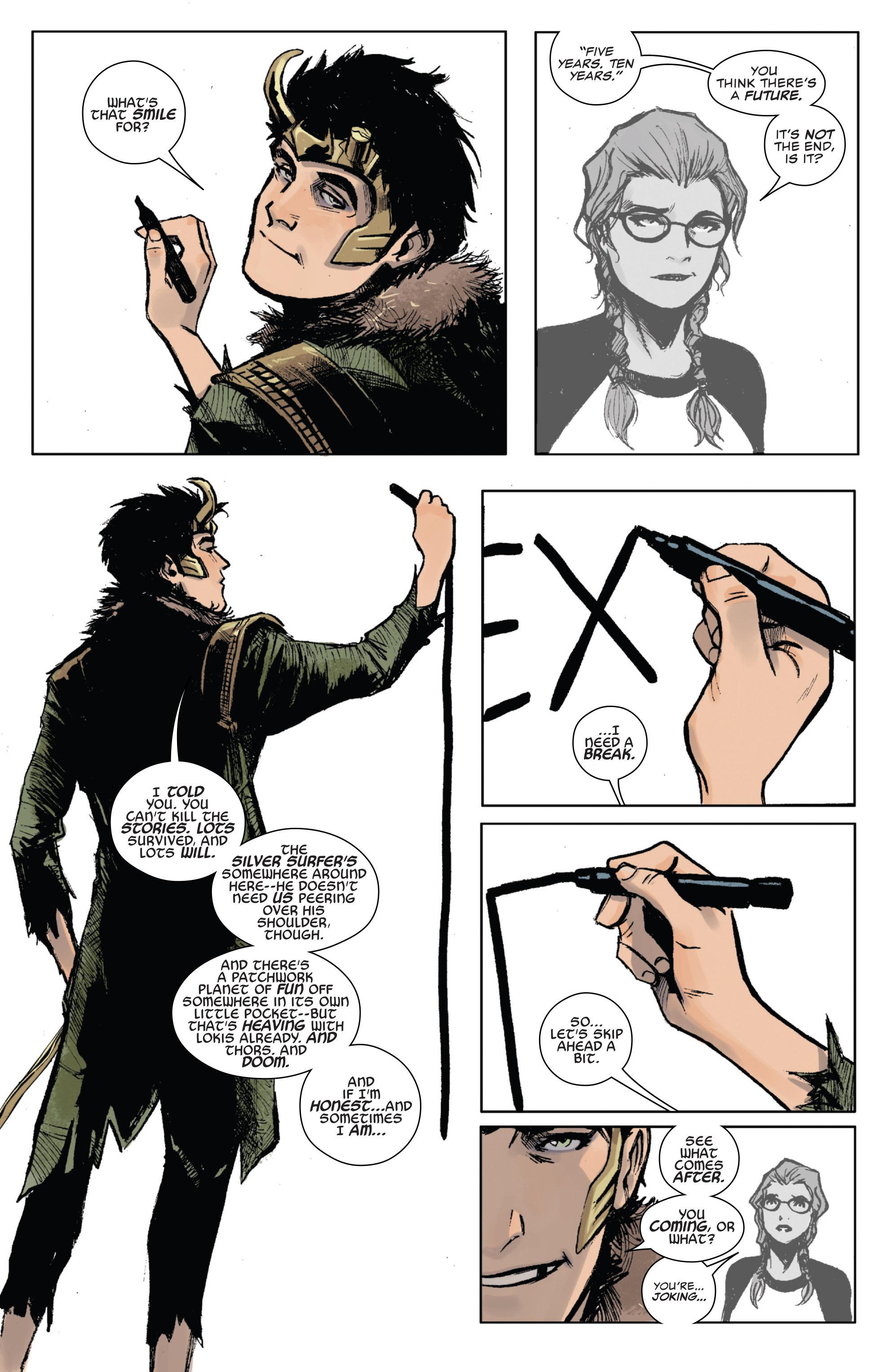 Read online Secret Wars: Last Days of the Marvel Universe comic -  Issue # TPB (Part 1) - 128