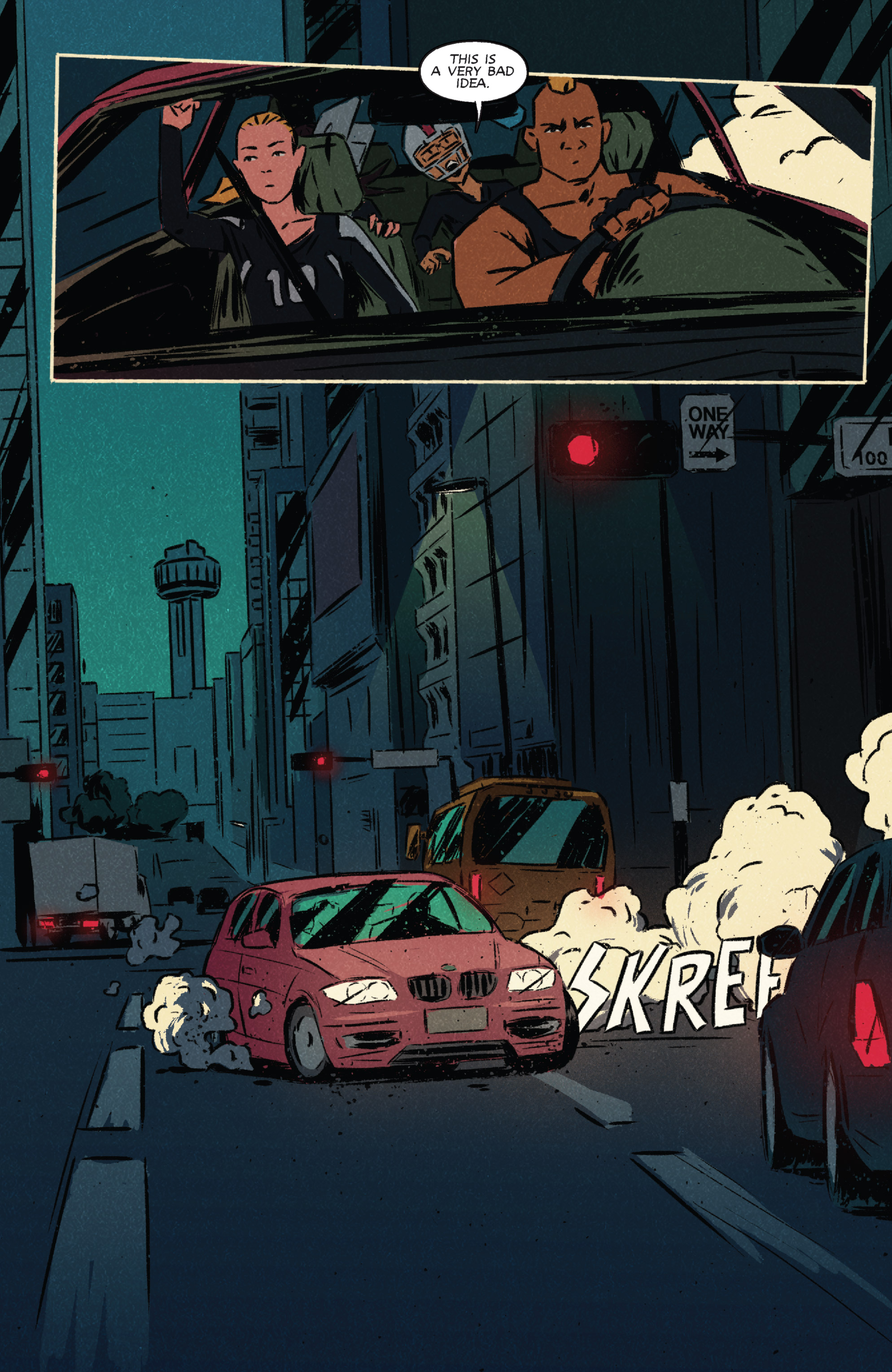 Read online Night Owl Society comic -  Issue #3 - 7