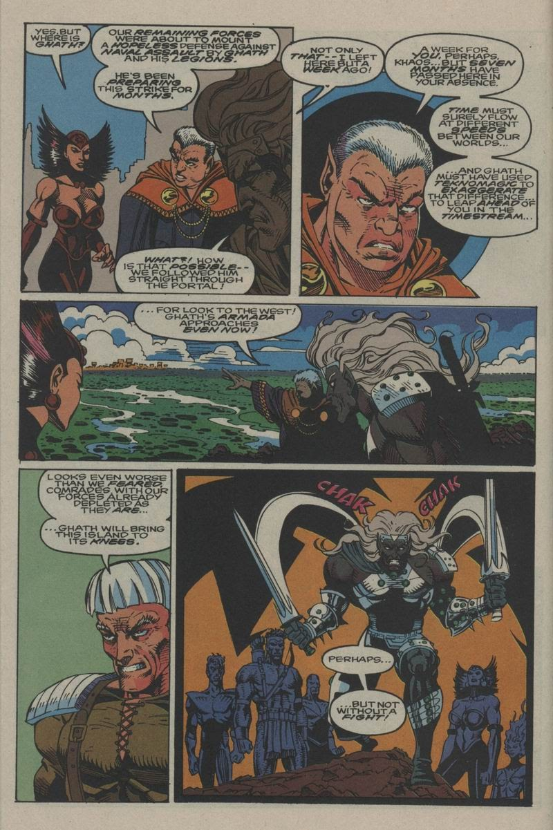 Excalibur (1988) issue Annual 1 - Page 36