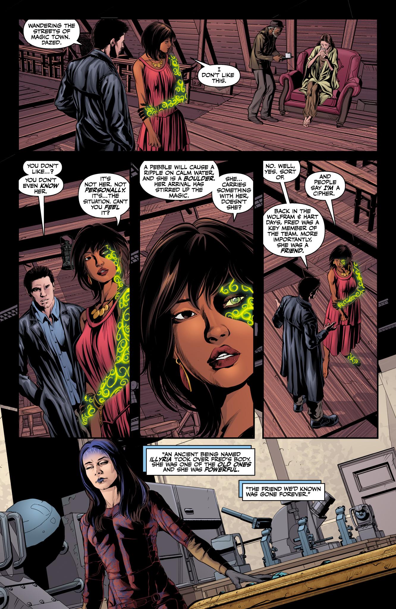 Read online Angel & Faith Season 10 comic -  Issue #11 - 10