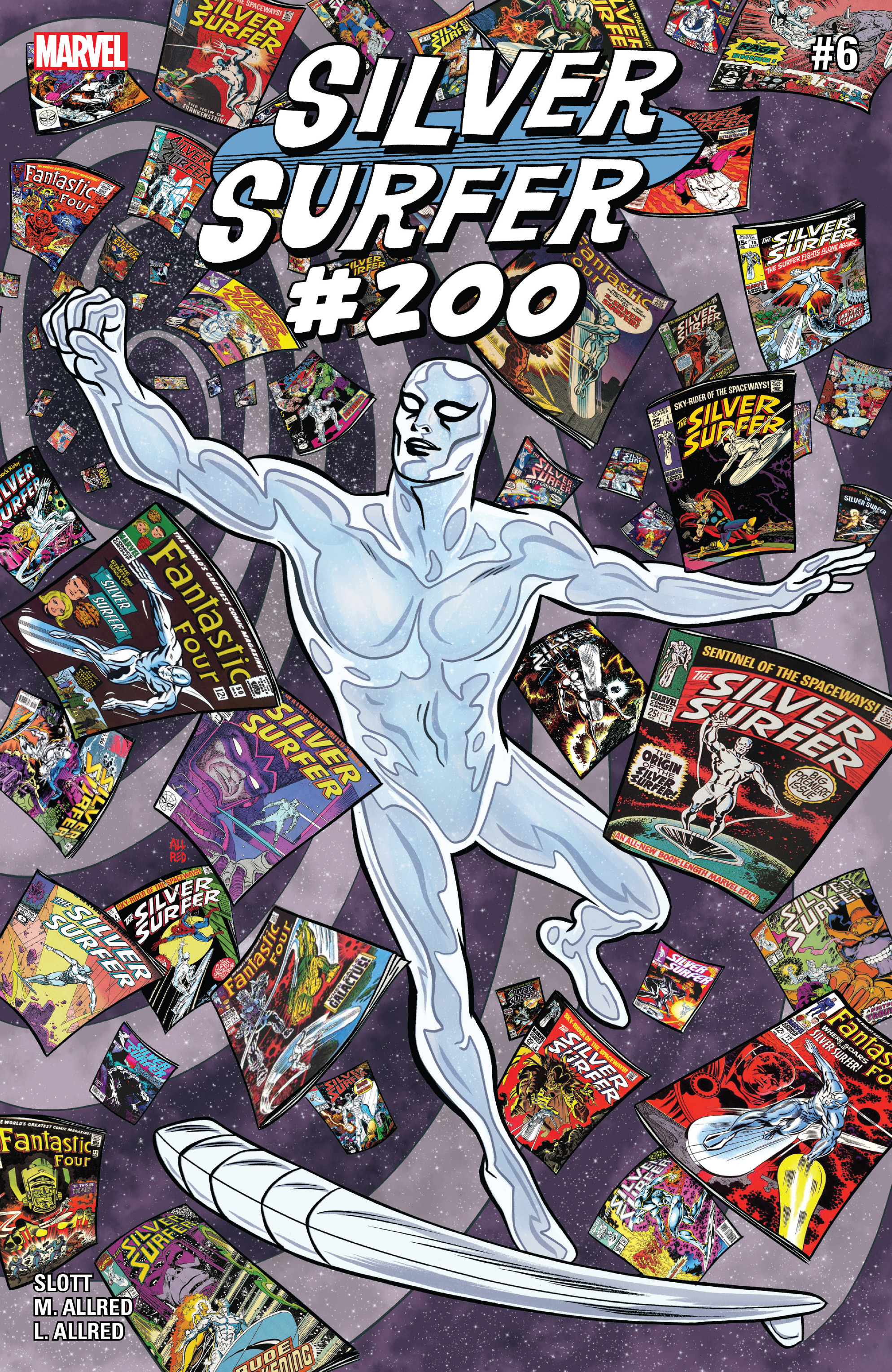 Read online Silver Surfer (2016) comic -  Issue #6 - 1
