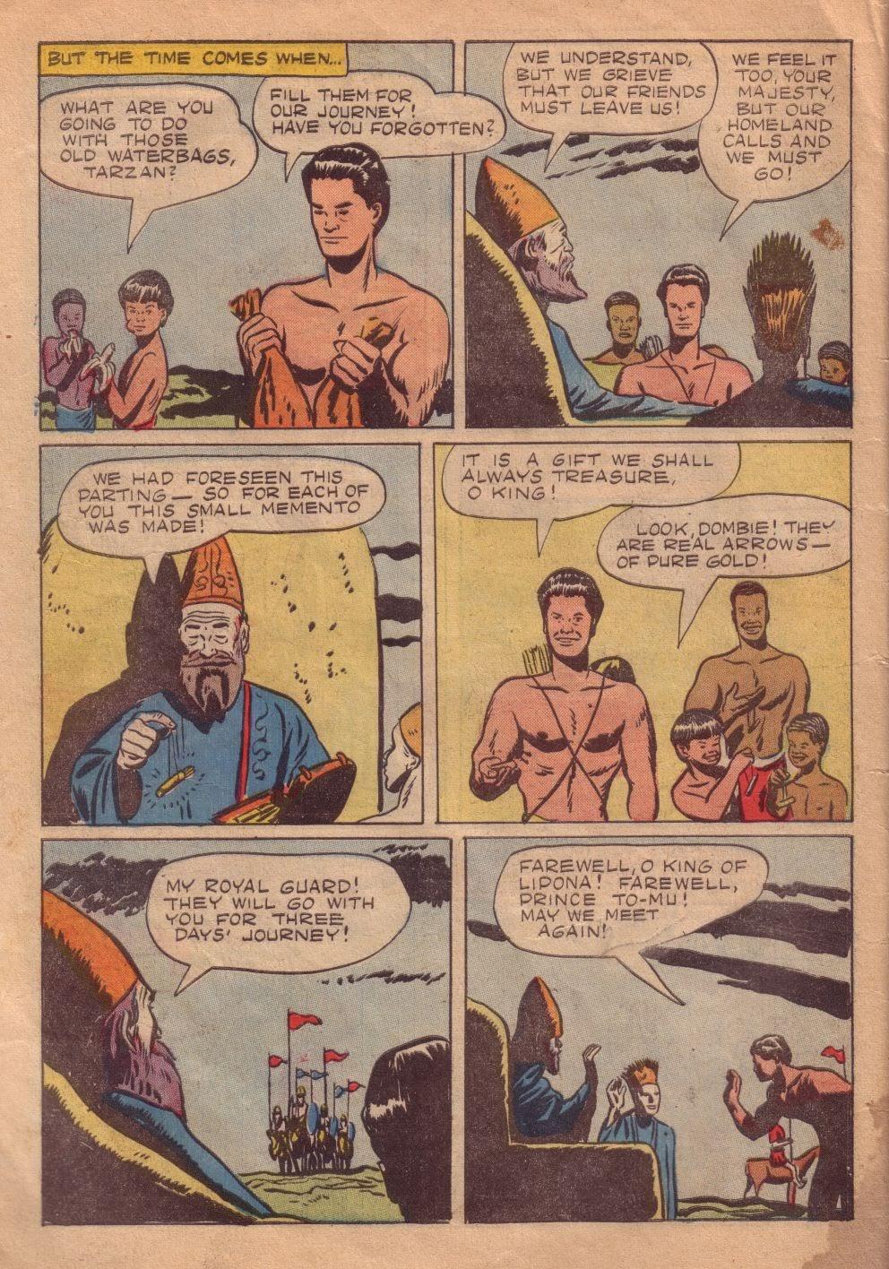 Tarzan (1948) issue 8 - Page 32