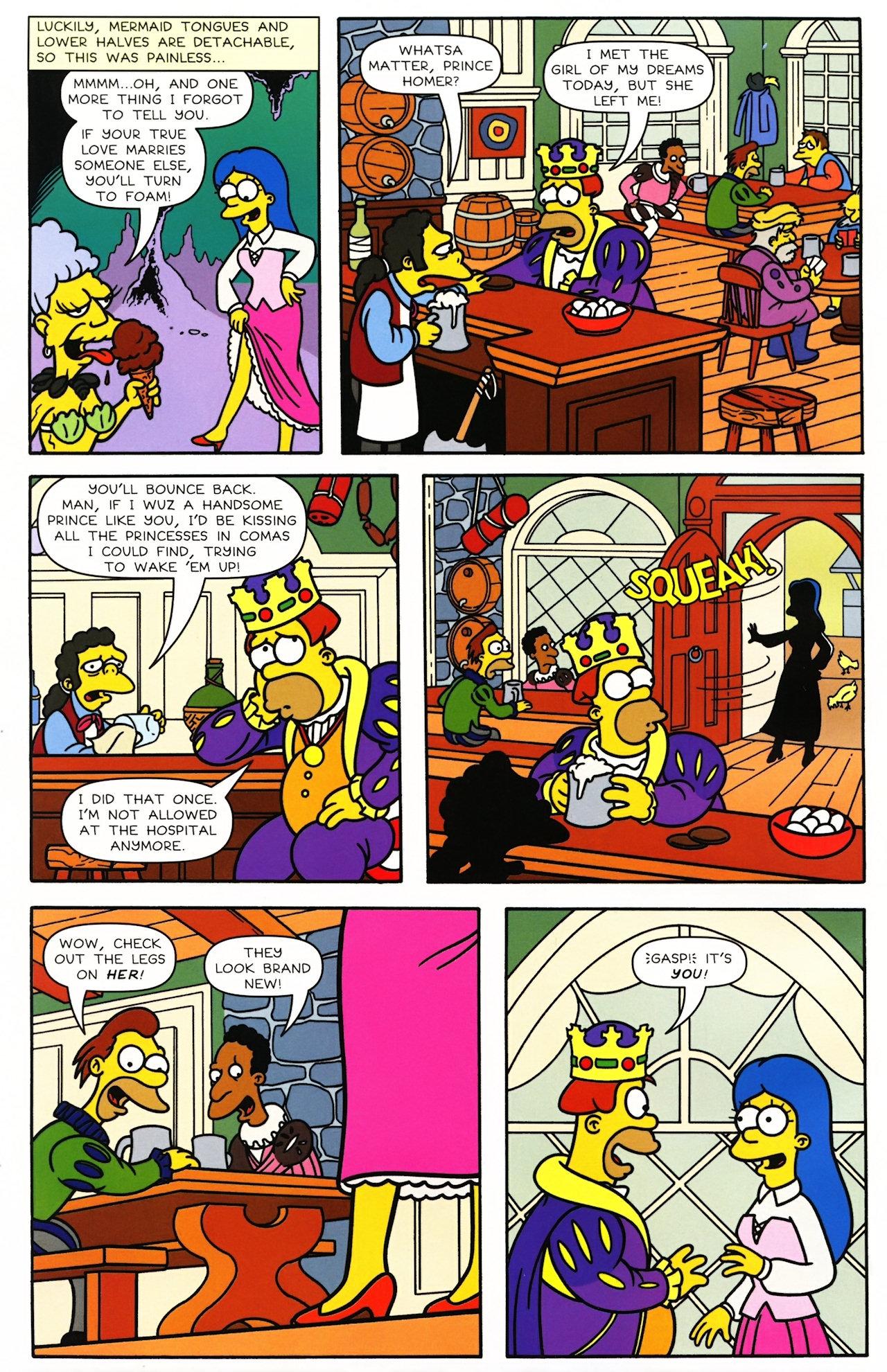 Read online Simpsons Comics comic -  Issue #148 - 7