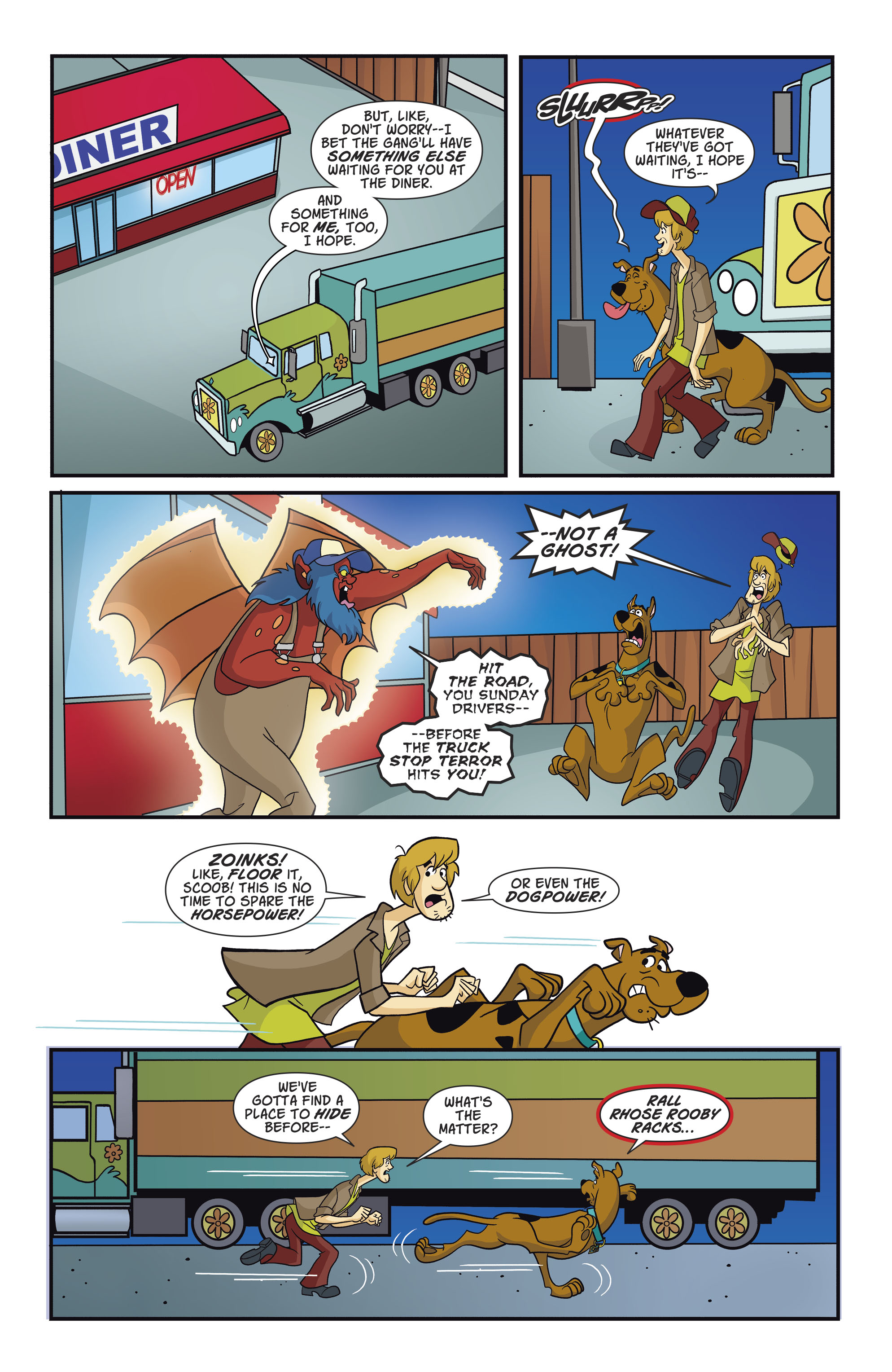 Read online Scooby-Doo: Where Are You? comic -  Issue #82 - 6