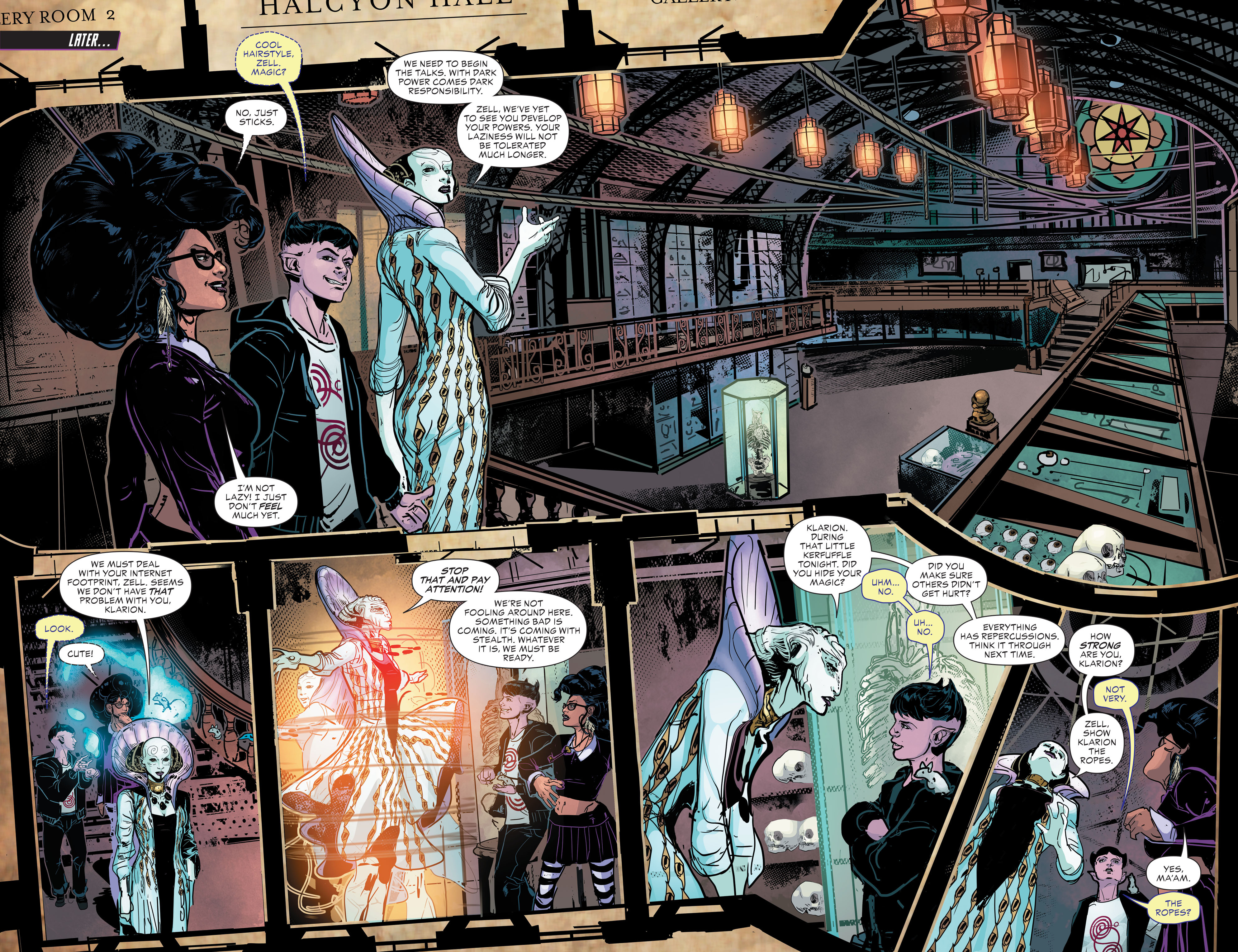 Read online Klarion comic -  Issue #2 - 8
