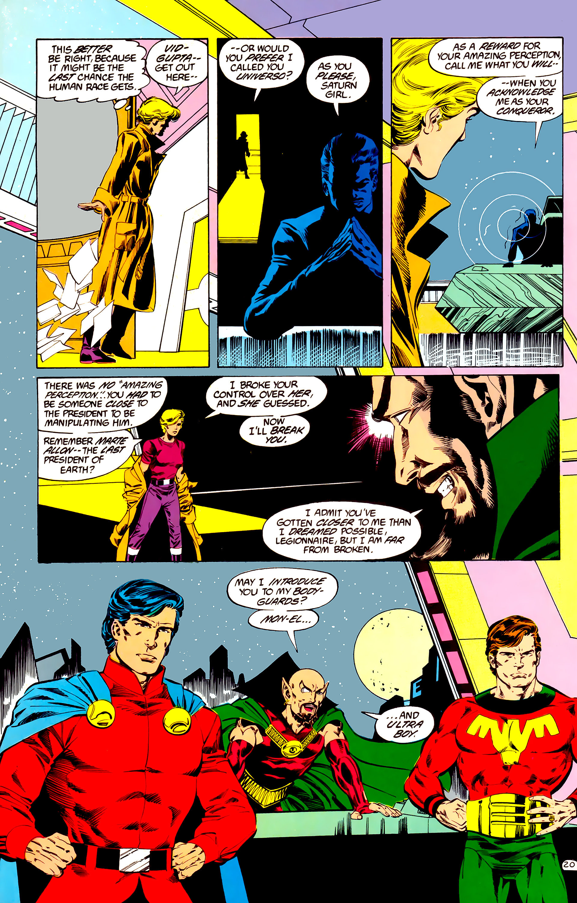 Legion of Super-Heroes (1984) 35 Page 19