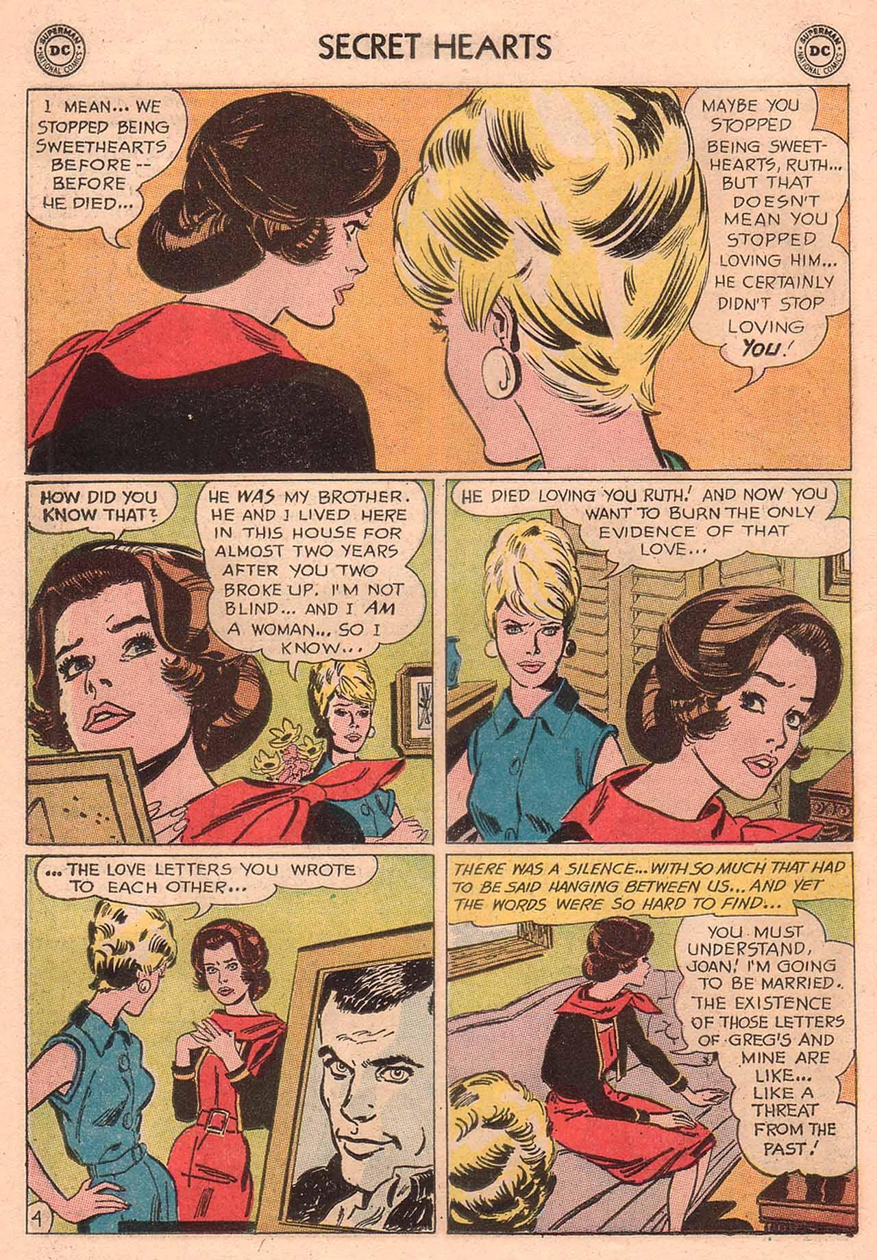 Read online Secret Hearts comic -  Issue #94 - 30