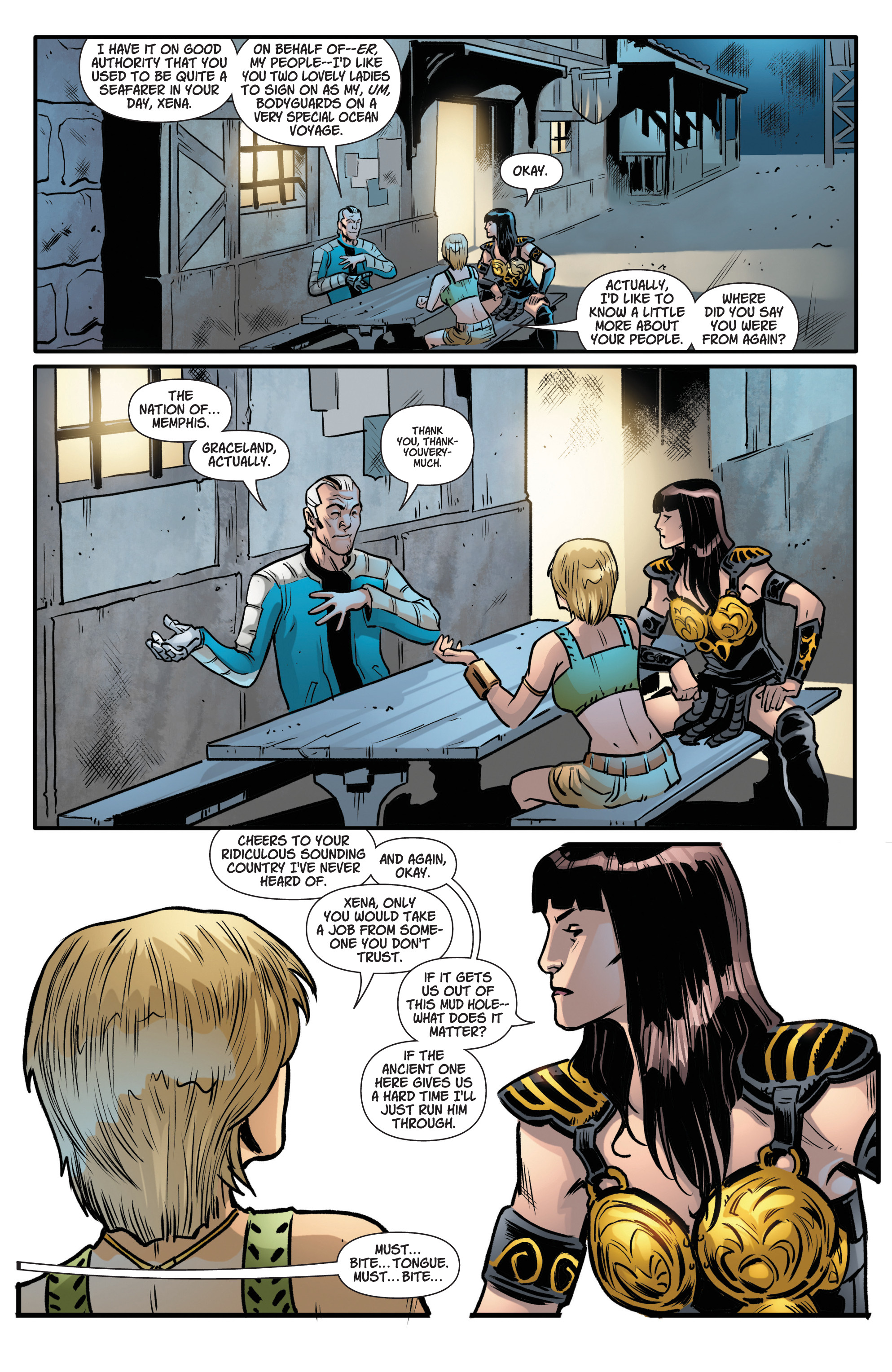 Read online Army Of Darkness/Xena: Forever…And A Day comic -  Issue #5 - 16
