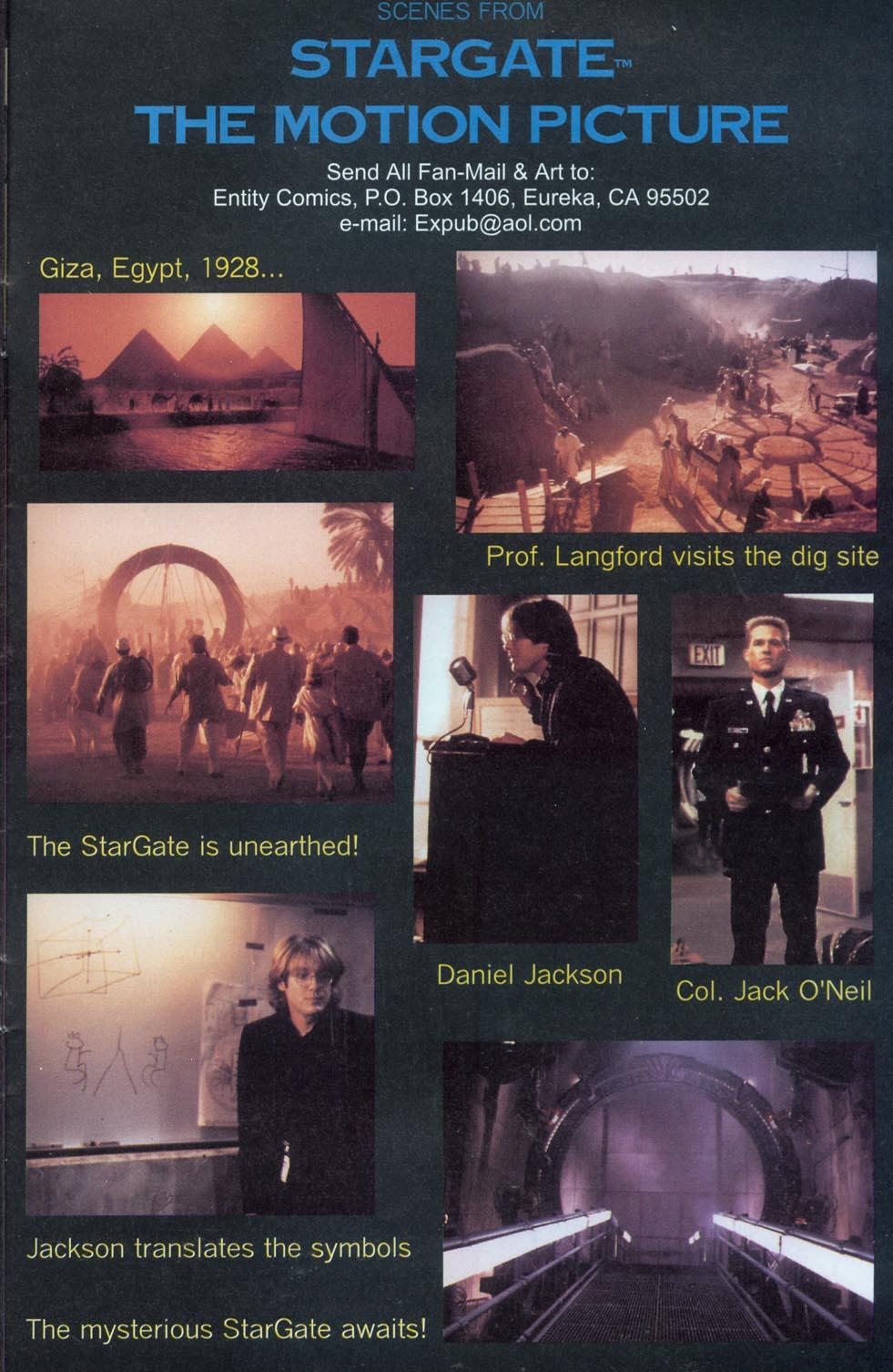 Read online Stargate comic -  Issue #1 - 25