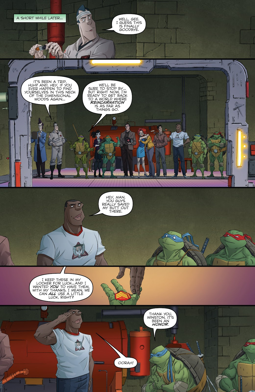 Read online Teenage Mutant Ninja Turtles: The IDW Collection comic -  Issue # TPB 5 (Part 3) - 60