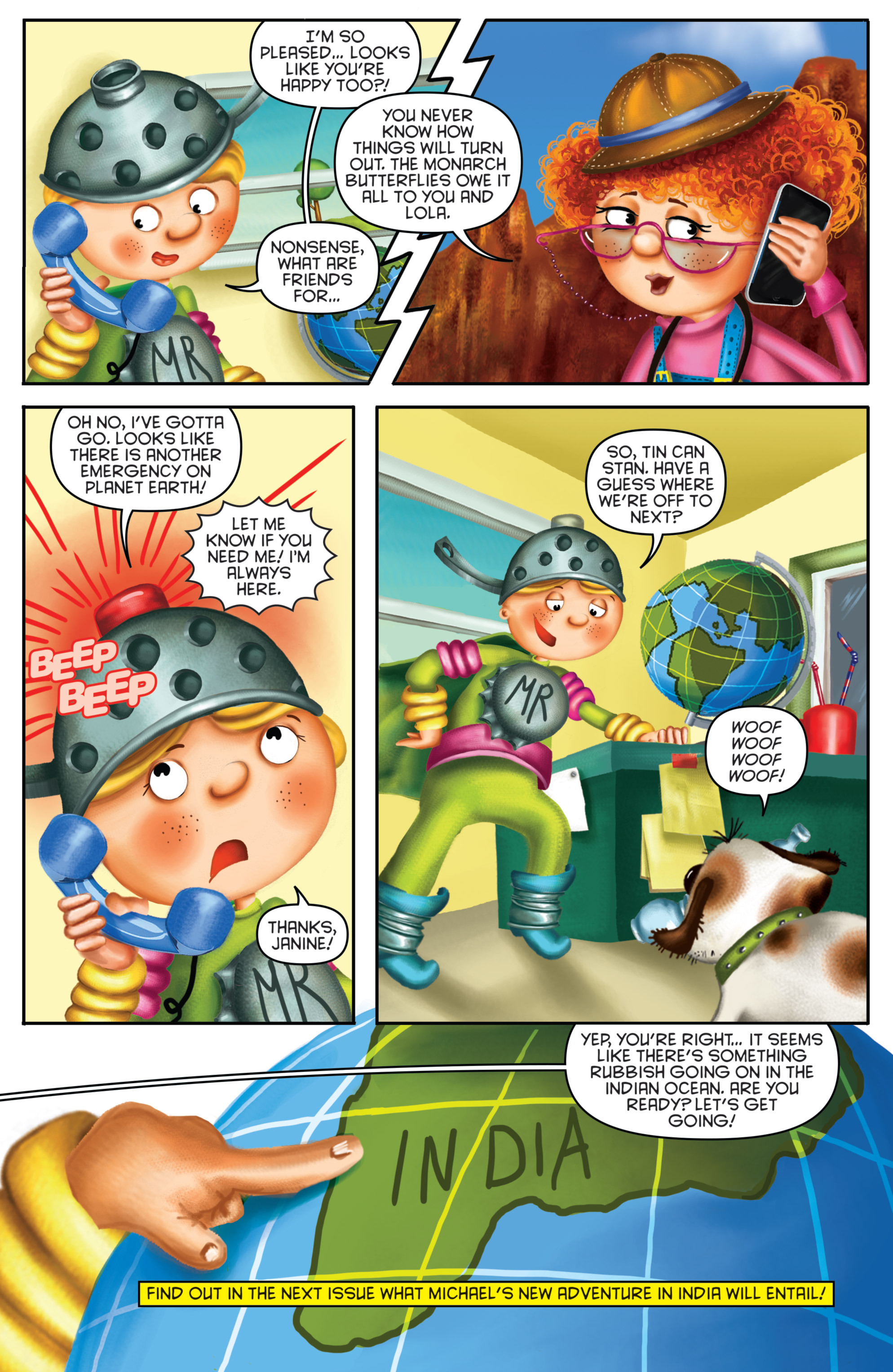 Read online Michael Recycle comic -  Issue #3 - 23