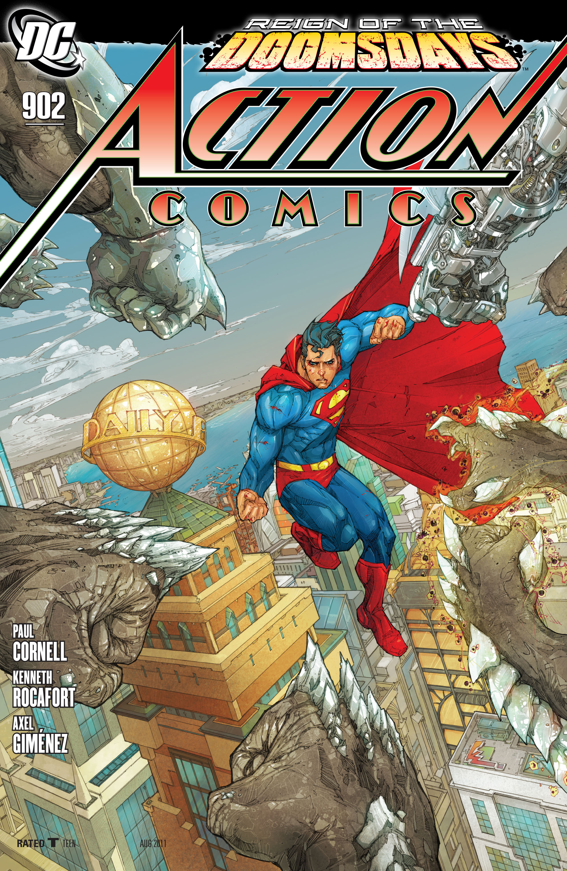 Read online Action Comics (1938) comic -  Issue #902 - 1