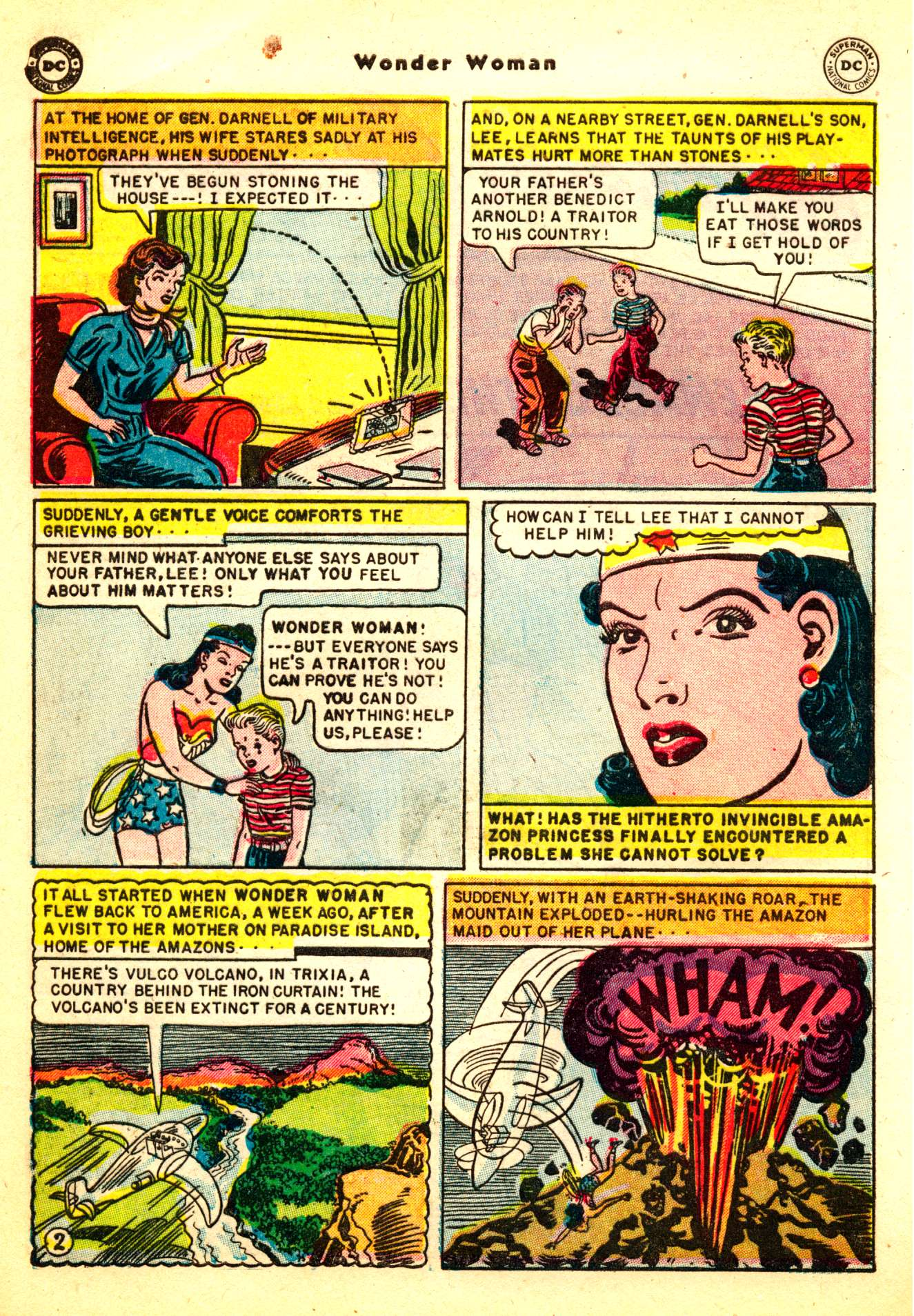 Read online Wonder Woman (1942) comic -  Issue #50 - 4