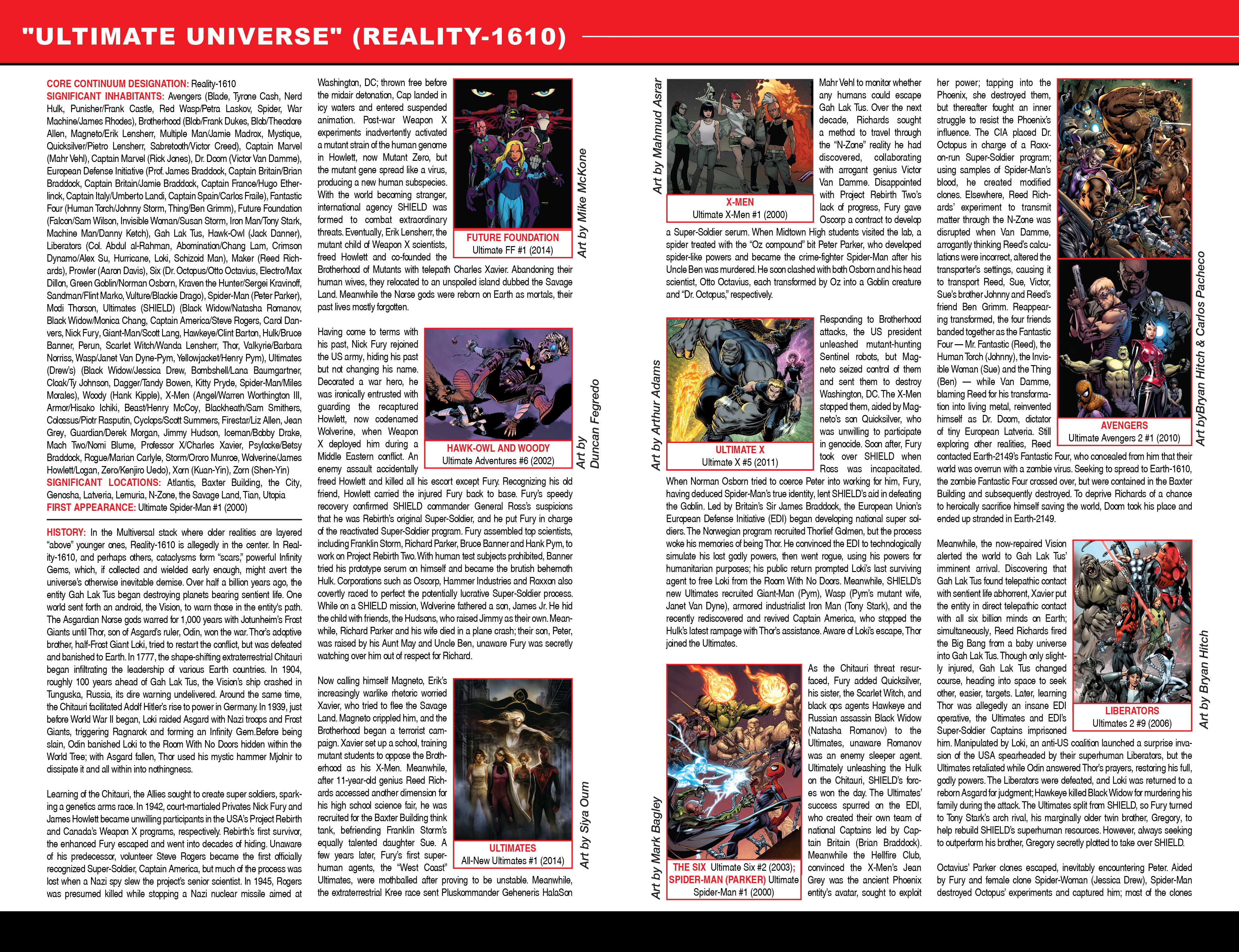 Read online Secret Wars: Official Guide to the Marvel Multiverse comic -  Issue # Full - 27