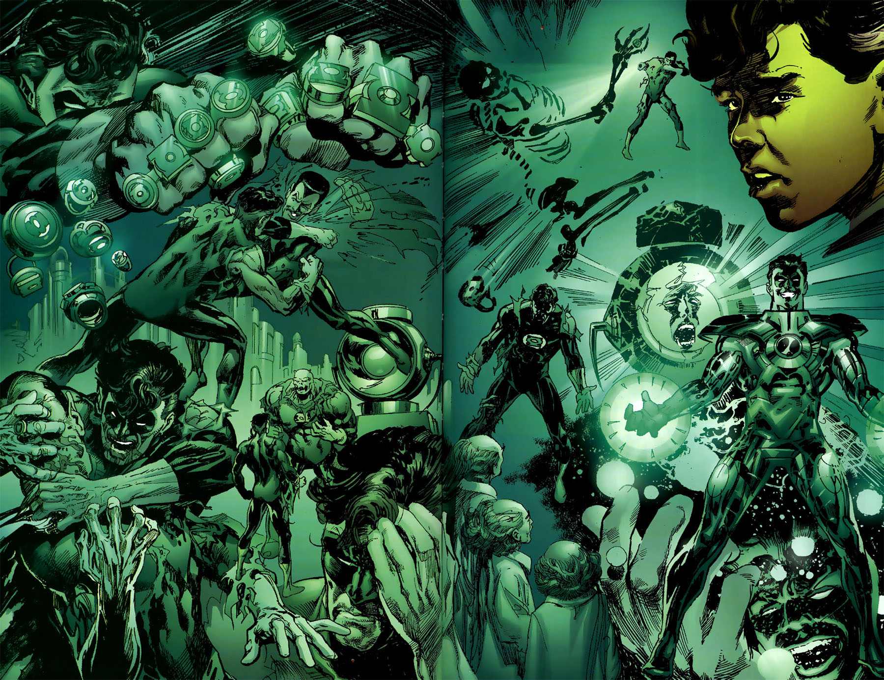 Read online Green Lantern: Legacy: The Last Will and Testament of Hal Jordan comic -  Issue # TPB - 64