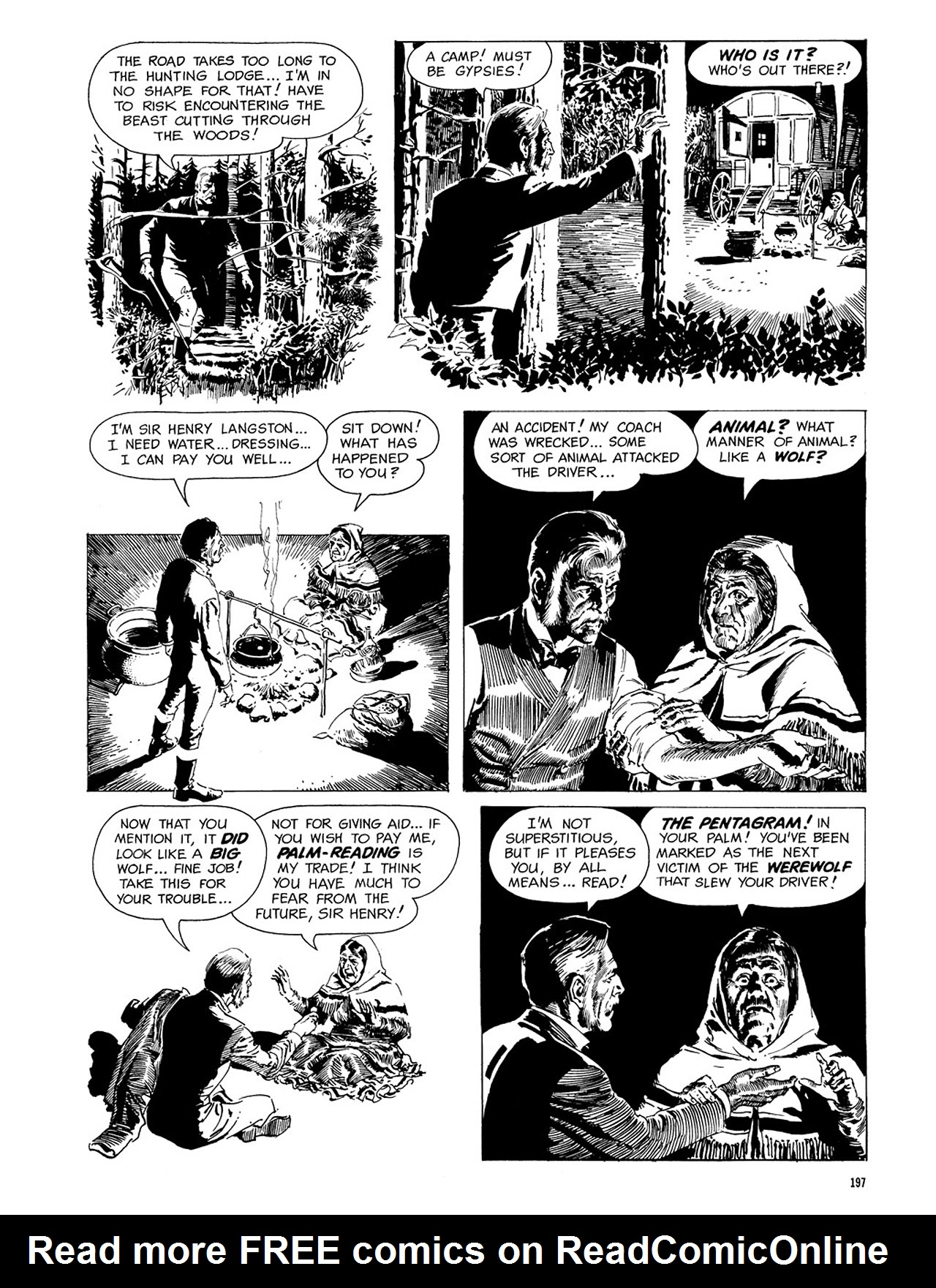 Read online Eerie Archives comic -  Issue # TPB 3 - 198