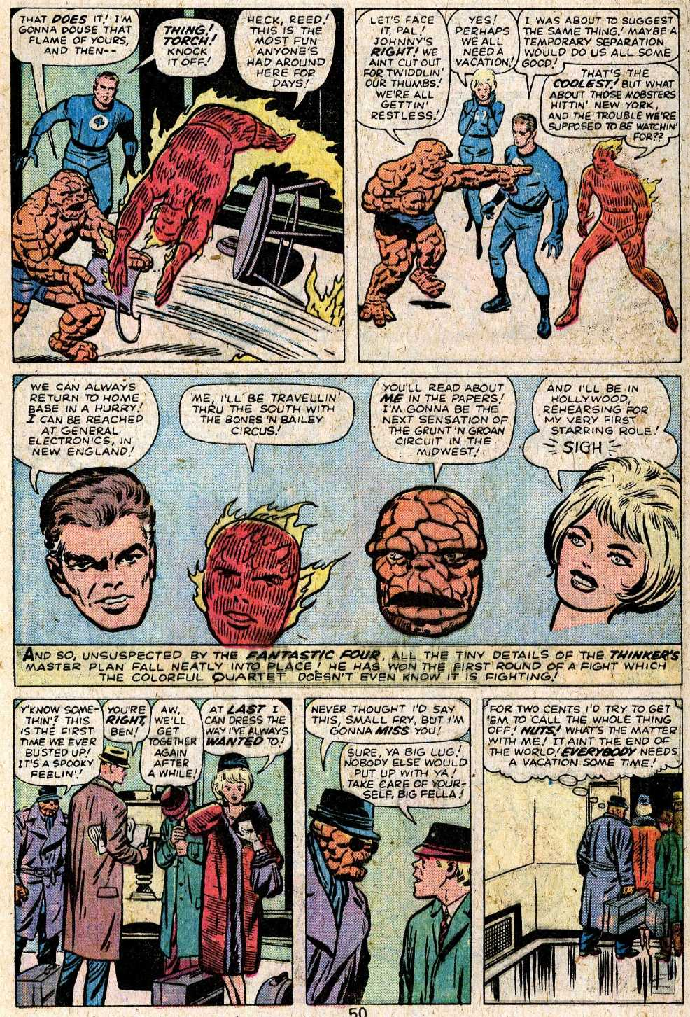 Giant-Size Fantastic Four issue 5 - Page 52