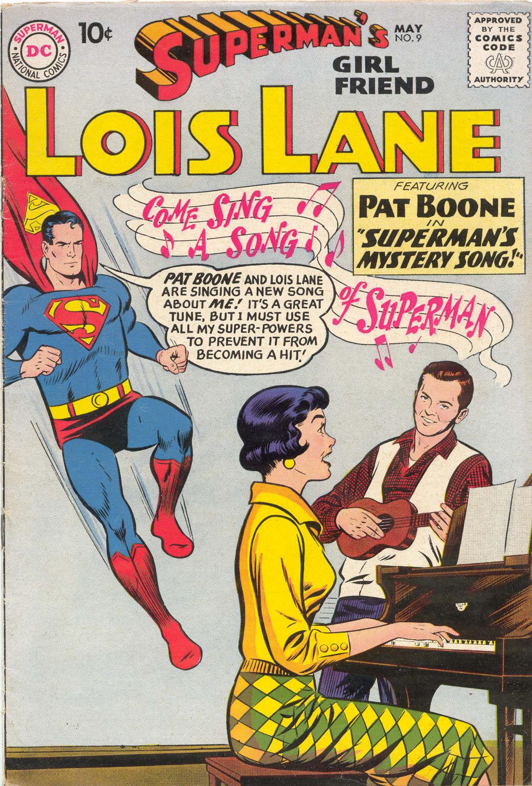 Supermans Girl Friend, Lois Lane 9 Page 1