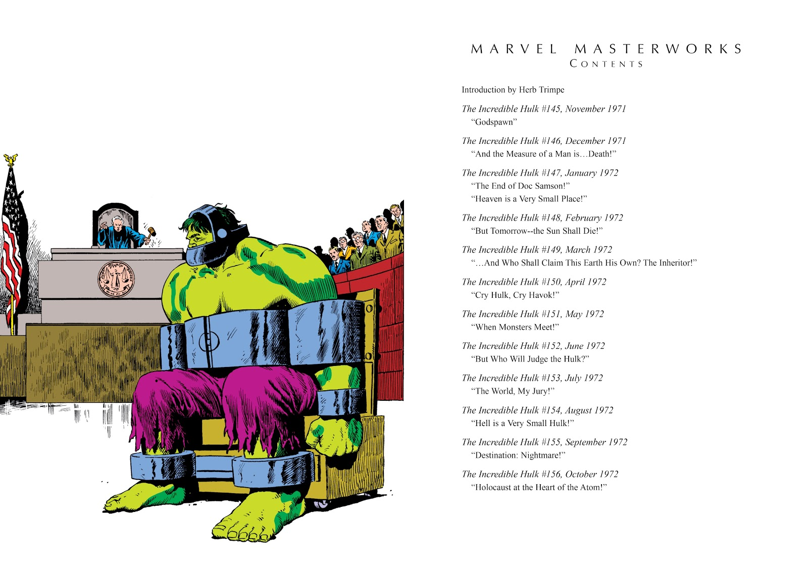 Read online Marvel Masterworks: The Incredible Hulk comic -  Issue # TPB 8 (Part 1) - 4