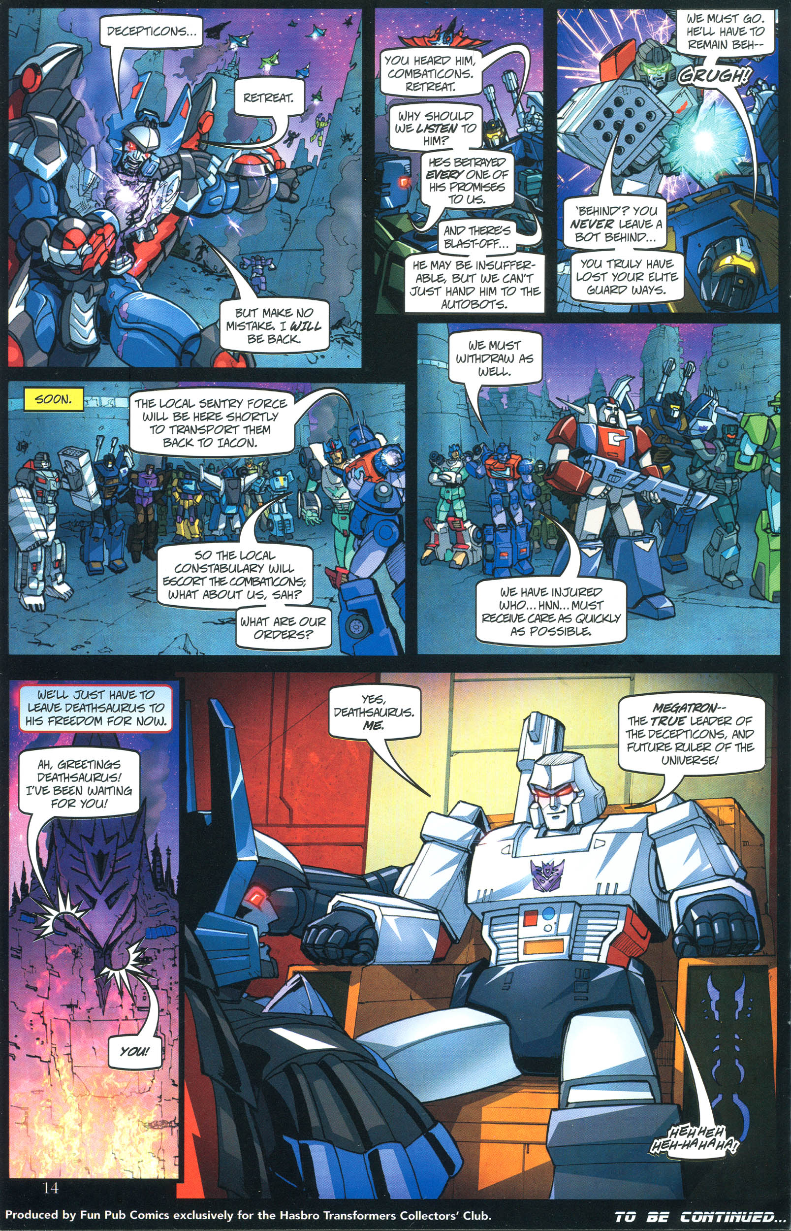 Read online Transformers: Collectors' Club comic -  Issue #40 - 14
