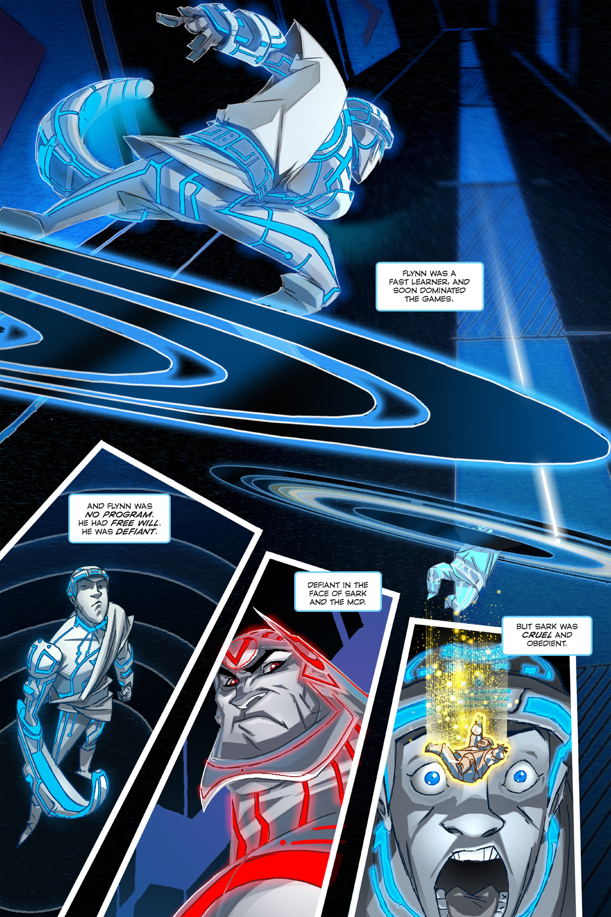Read online TRON: Betrayal comic -  Issue # TPB - 5