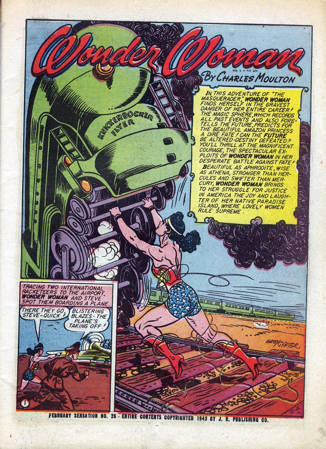 Read online Sensation (Mystery) Comics comic -  Issue #26 - 3