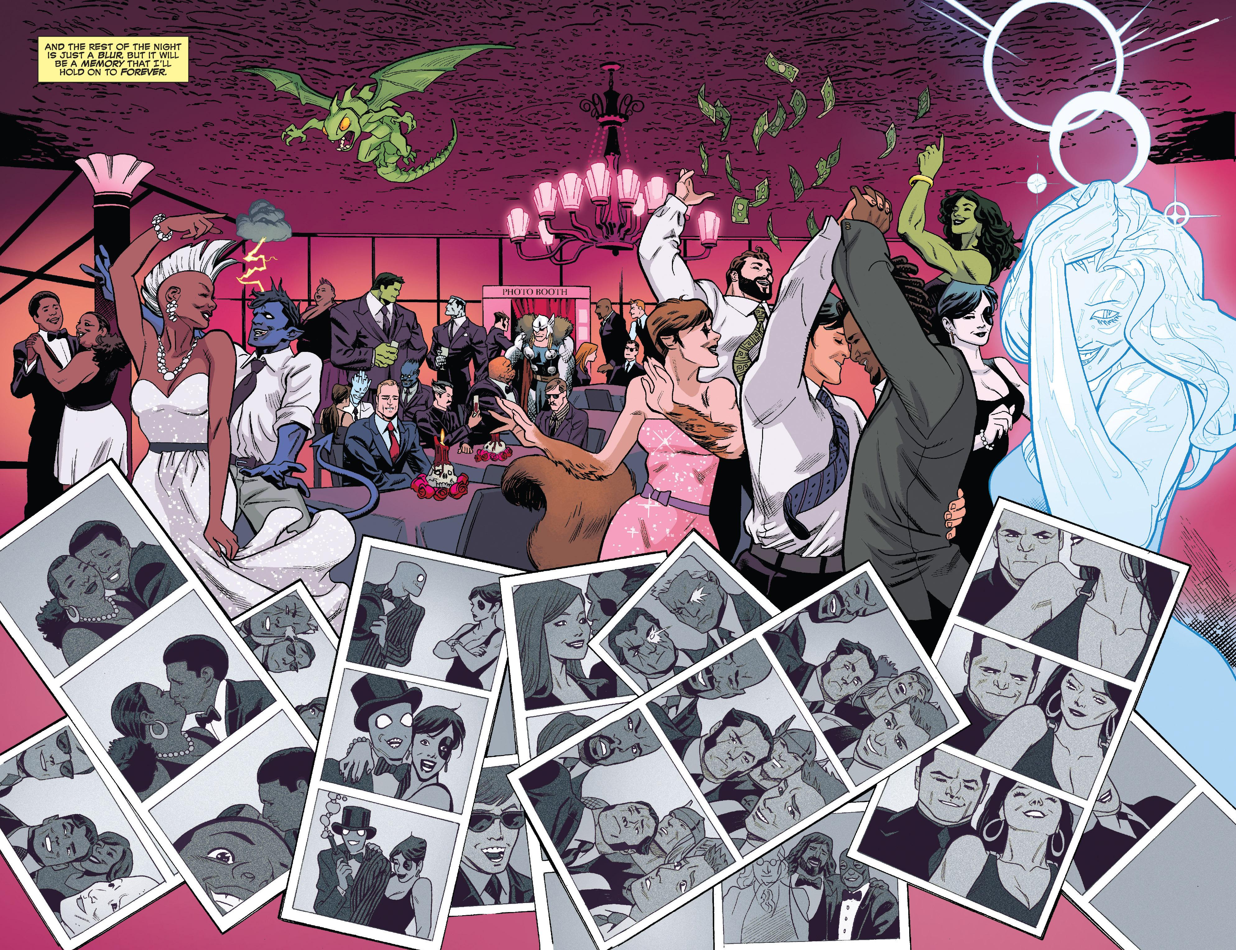 Read online True Believers: The Wedding of Deadpool comic -  Issue # Full - 18