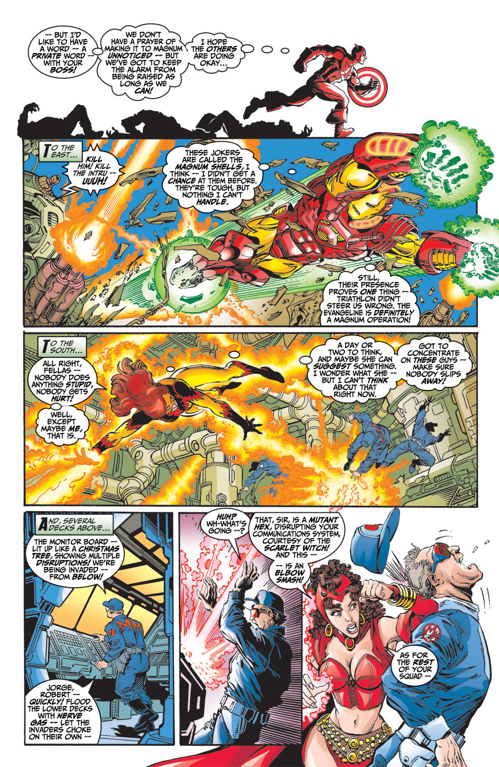 Read online Avengers (1998) comic -  Issue #9 - 8