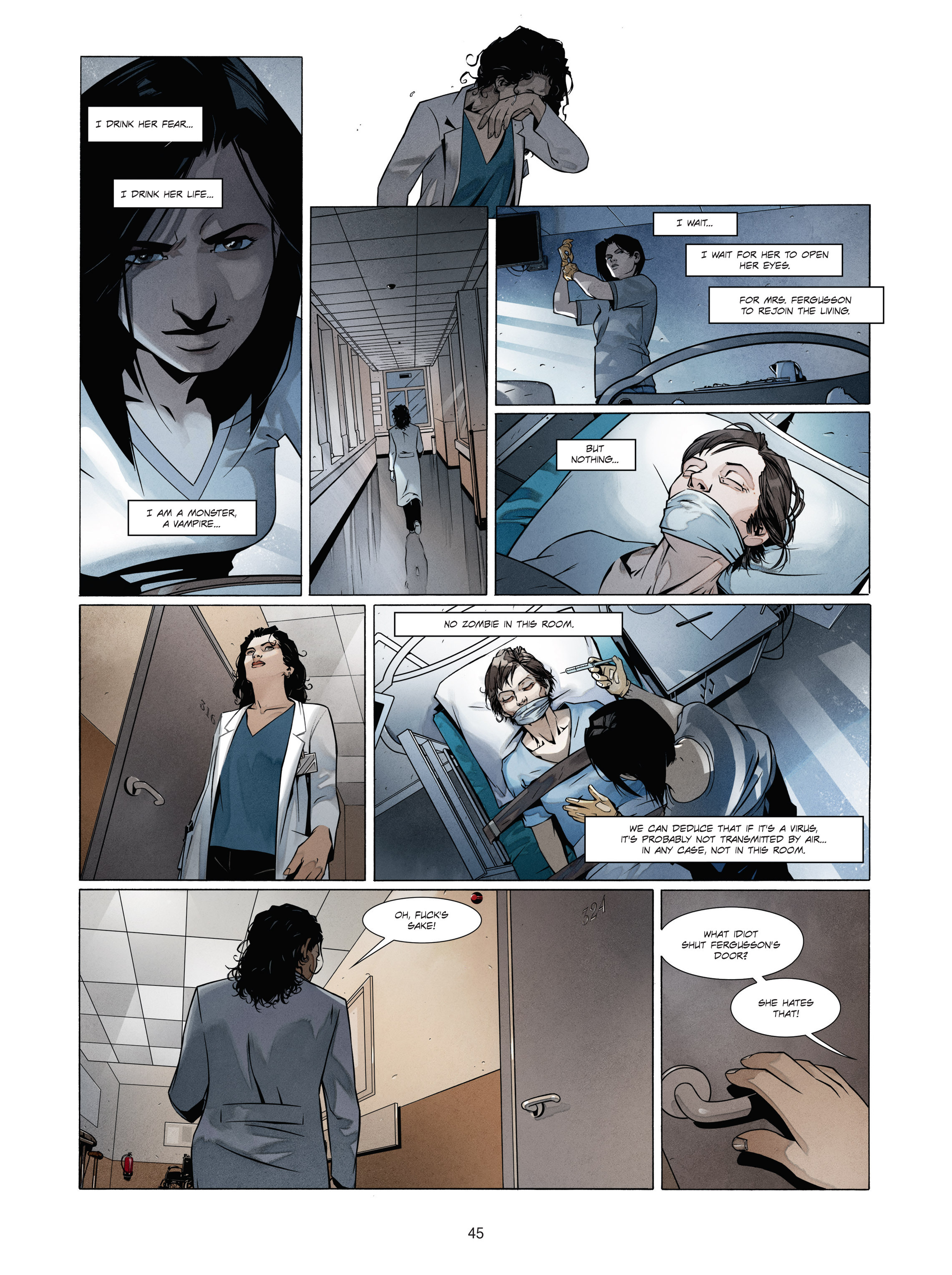 Read online Alice Matheson comic -  Issue #1 - 44