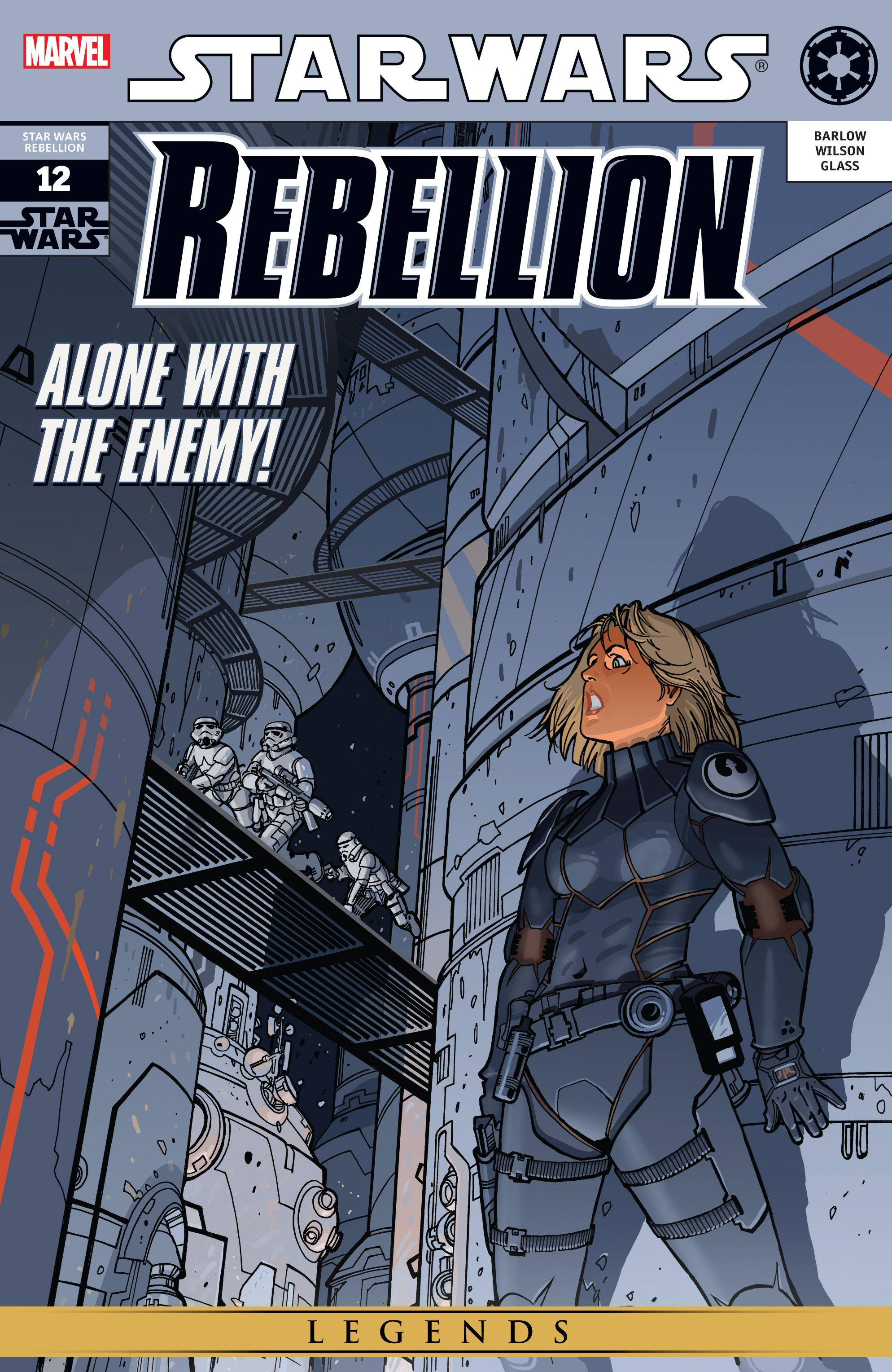 Star Wars: Rebellion 12 Page 1
