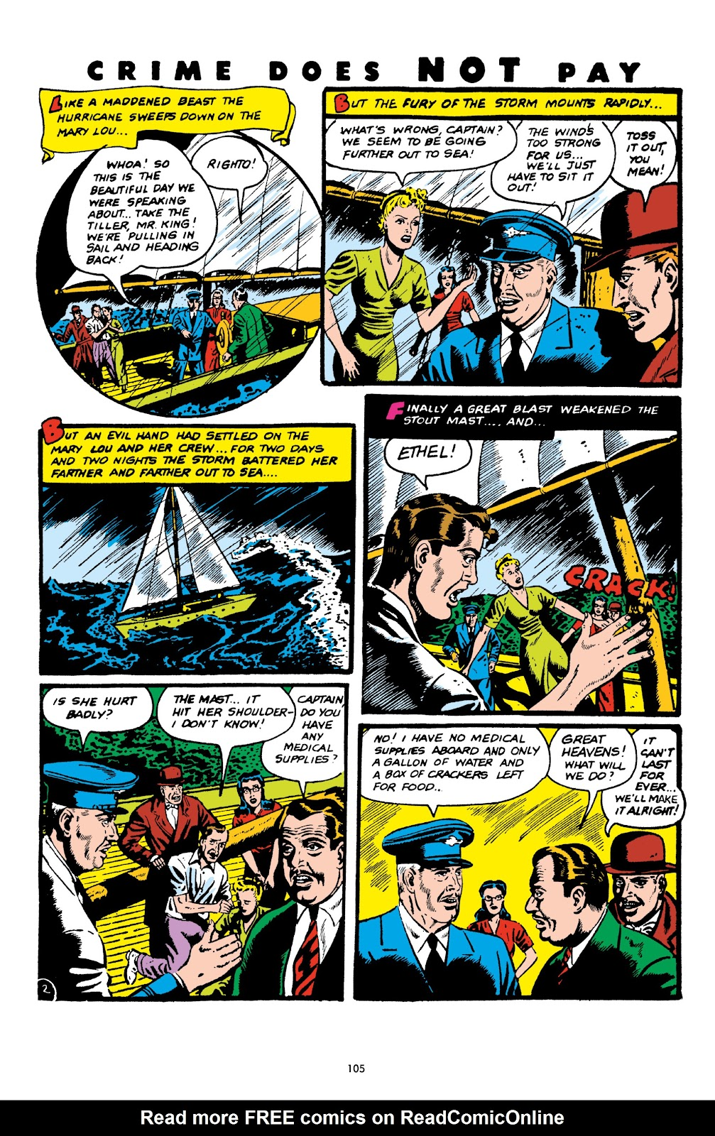 Read online Crime Does Not Pay Archives comic -  Issue # TPB 6 (Part 2) - 7