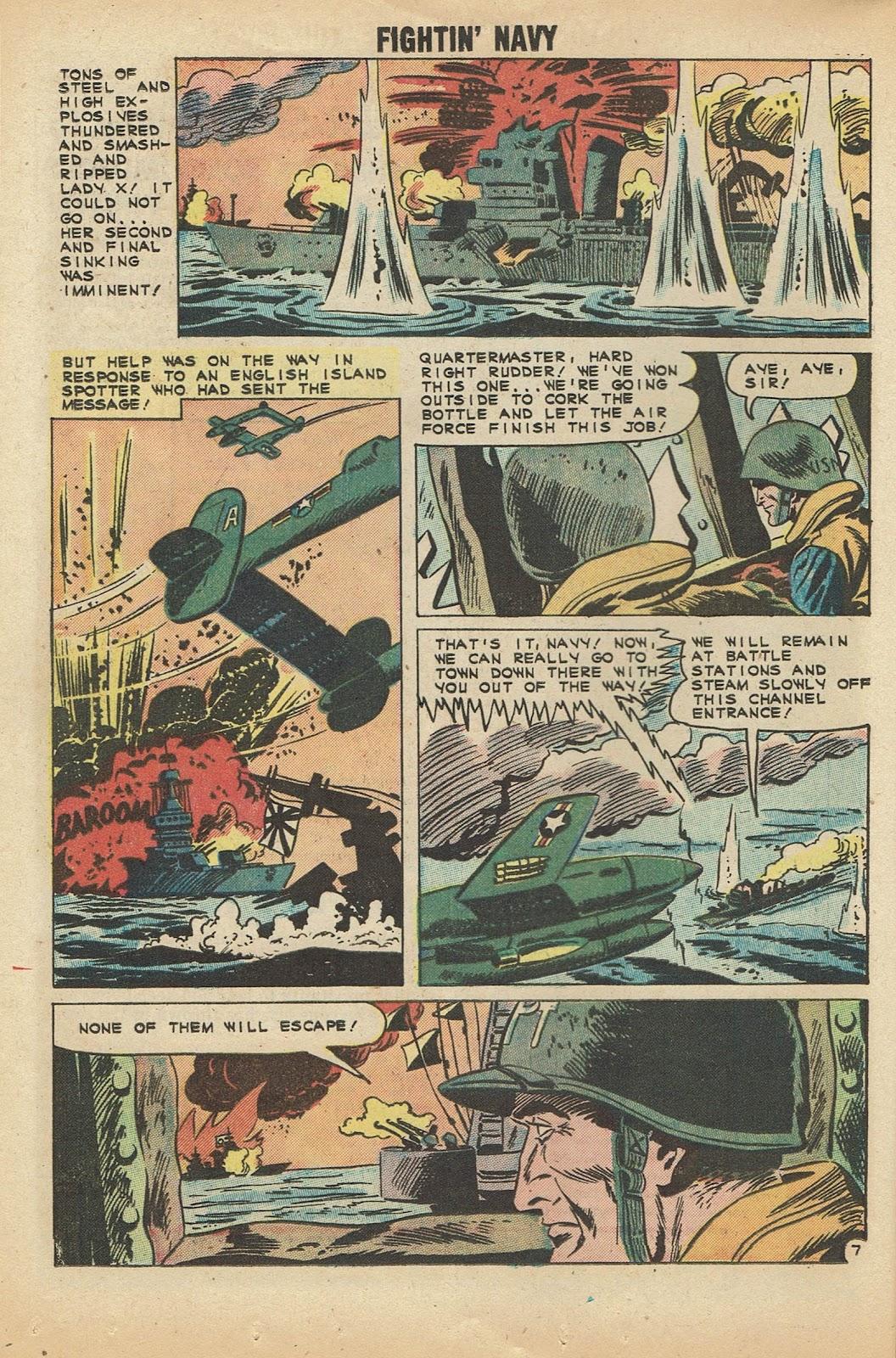 Read online Fightin' Navy comic -  Issue #97 - 16