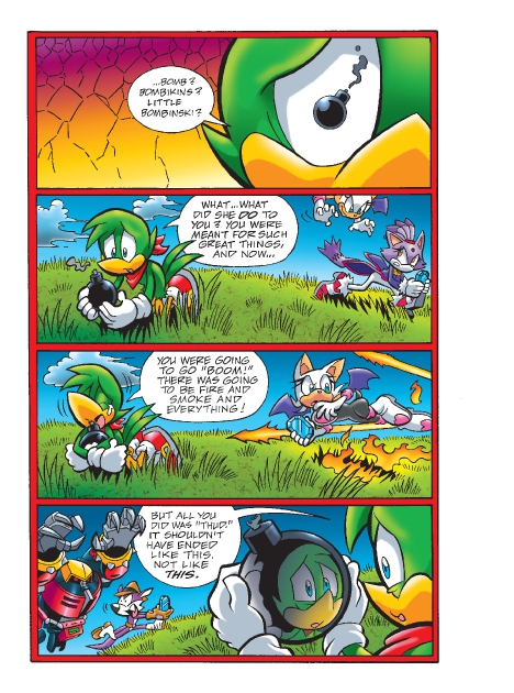 Read online Sonic Comics Spectacular: Speed of Sound comic -  Issue # Full - 202