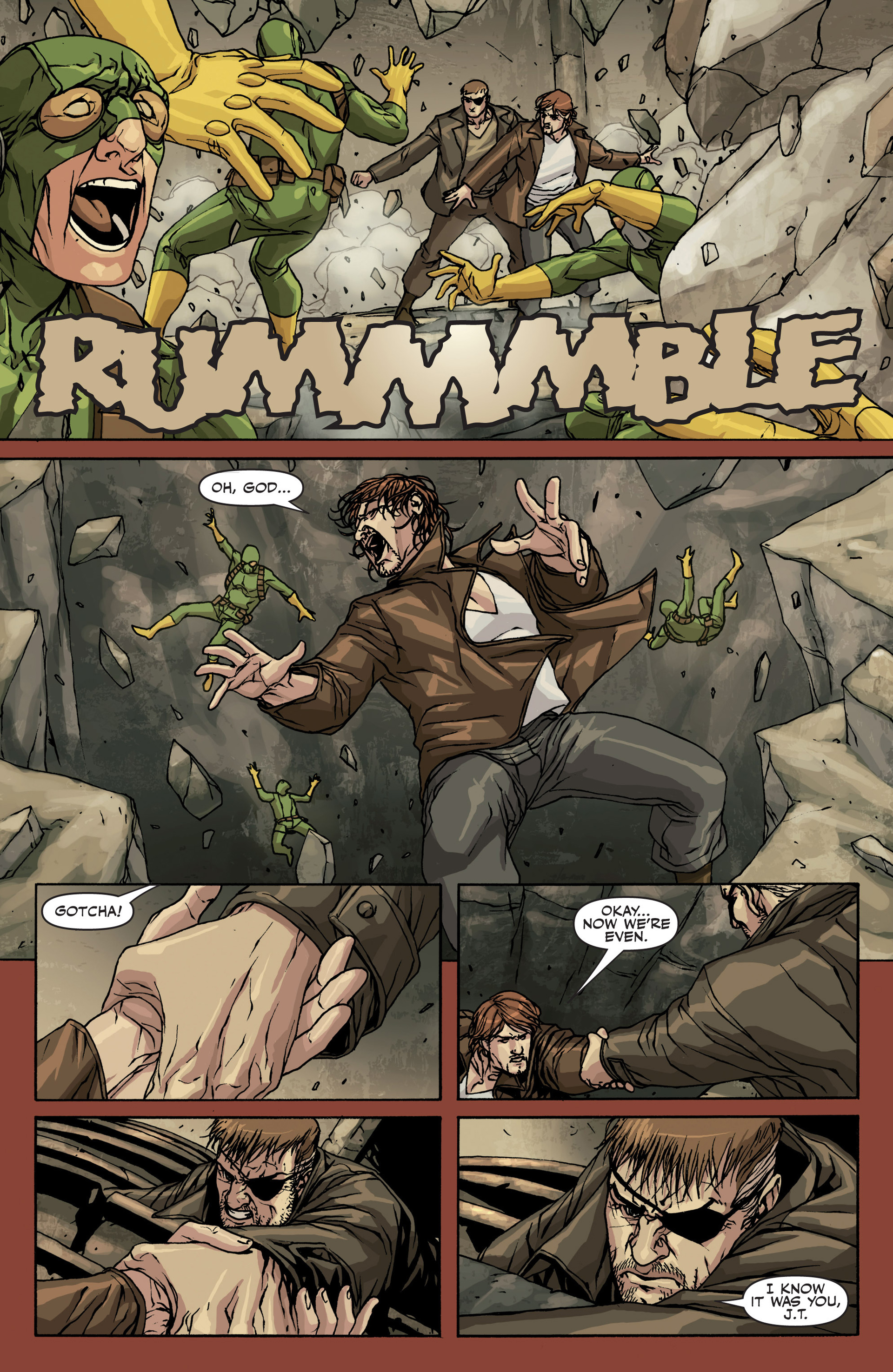 Read online Secret Warriors comic -  Issue #22 - 14