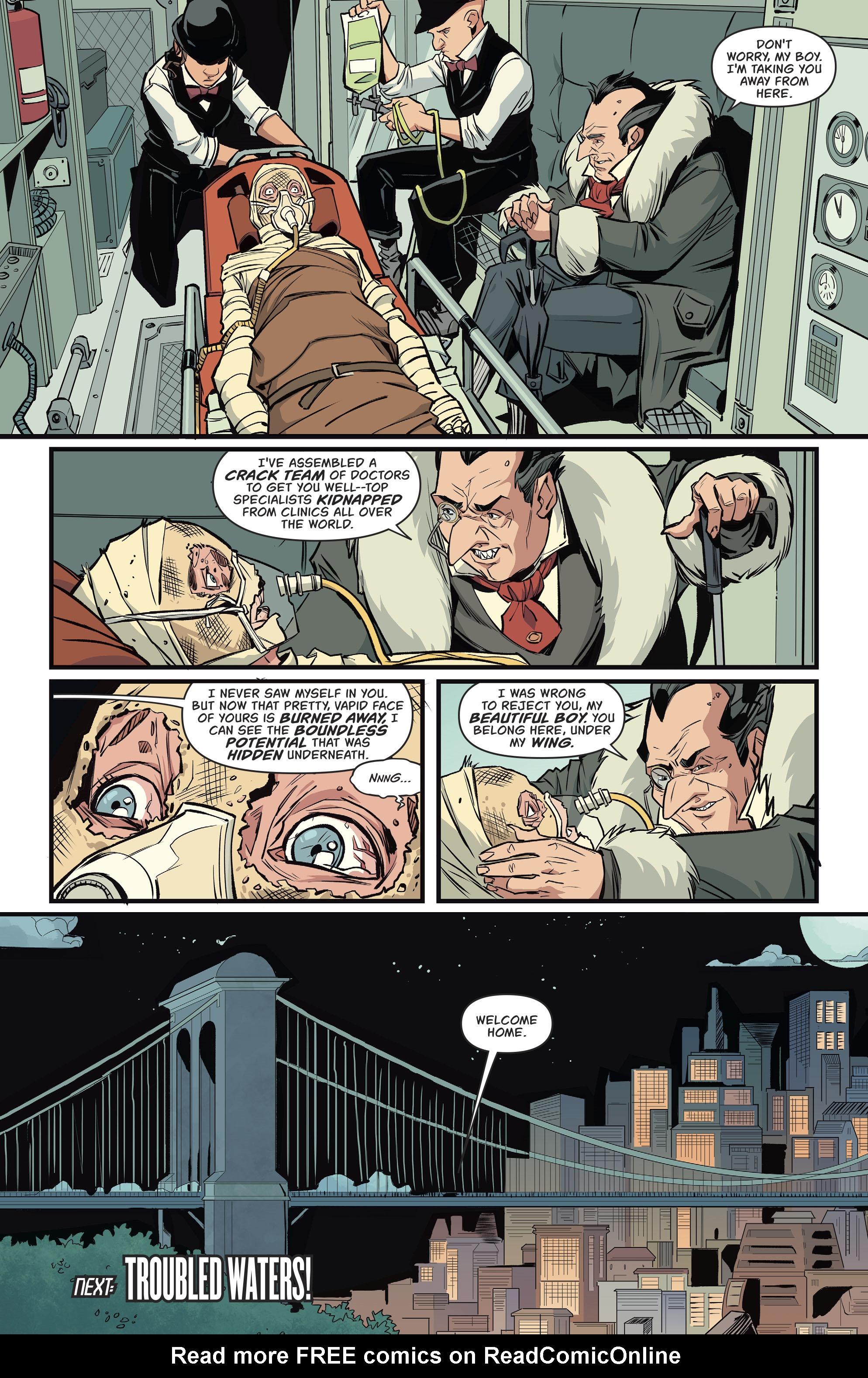 Read online Batgirl (2016) comic -  Issue #11 - 23