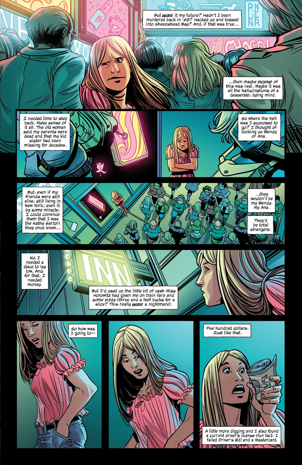 Read online The Girl In The Bay comic -  Issue #2 - 9