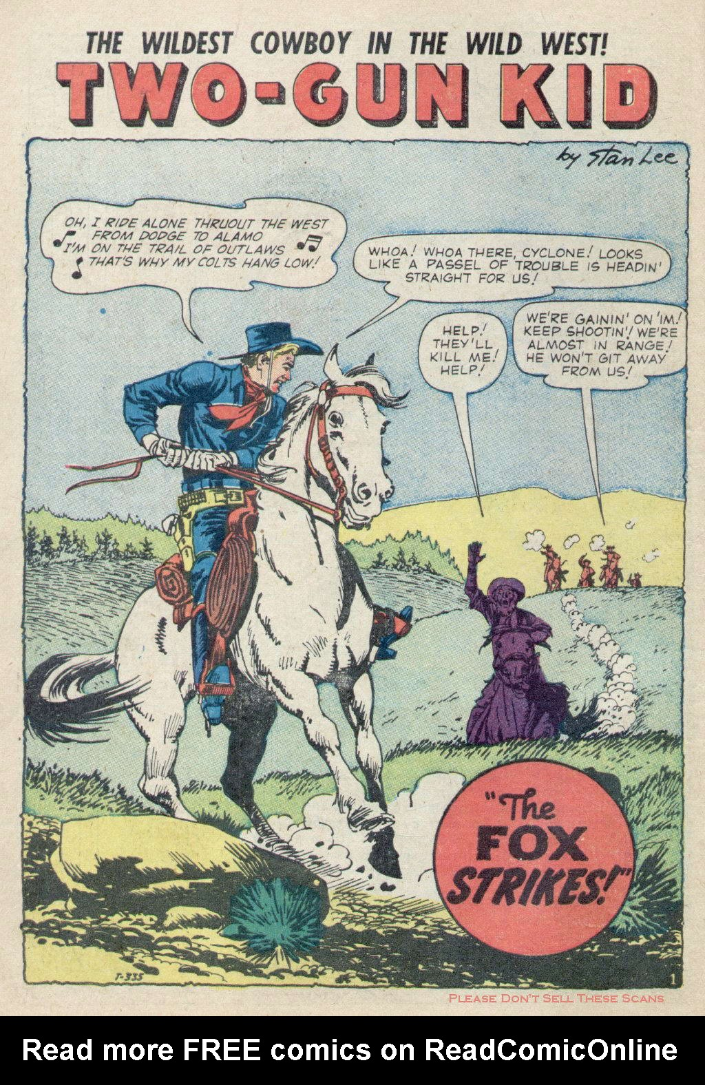 Read online Two-Gun Kid comic -  Issue #49 - 10