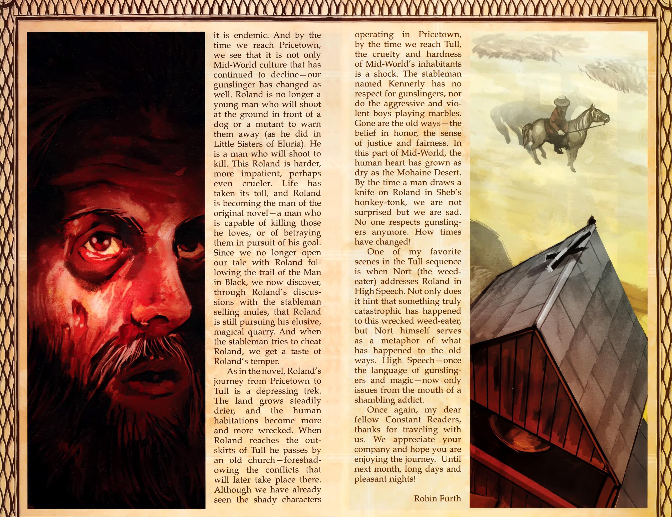 Read online Dark Tower: The Gunslinger - The Battle of Tull comic -  Issue #1 - 27
