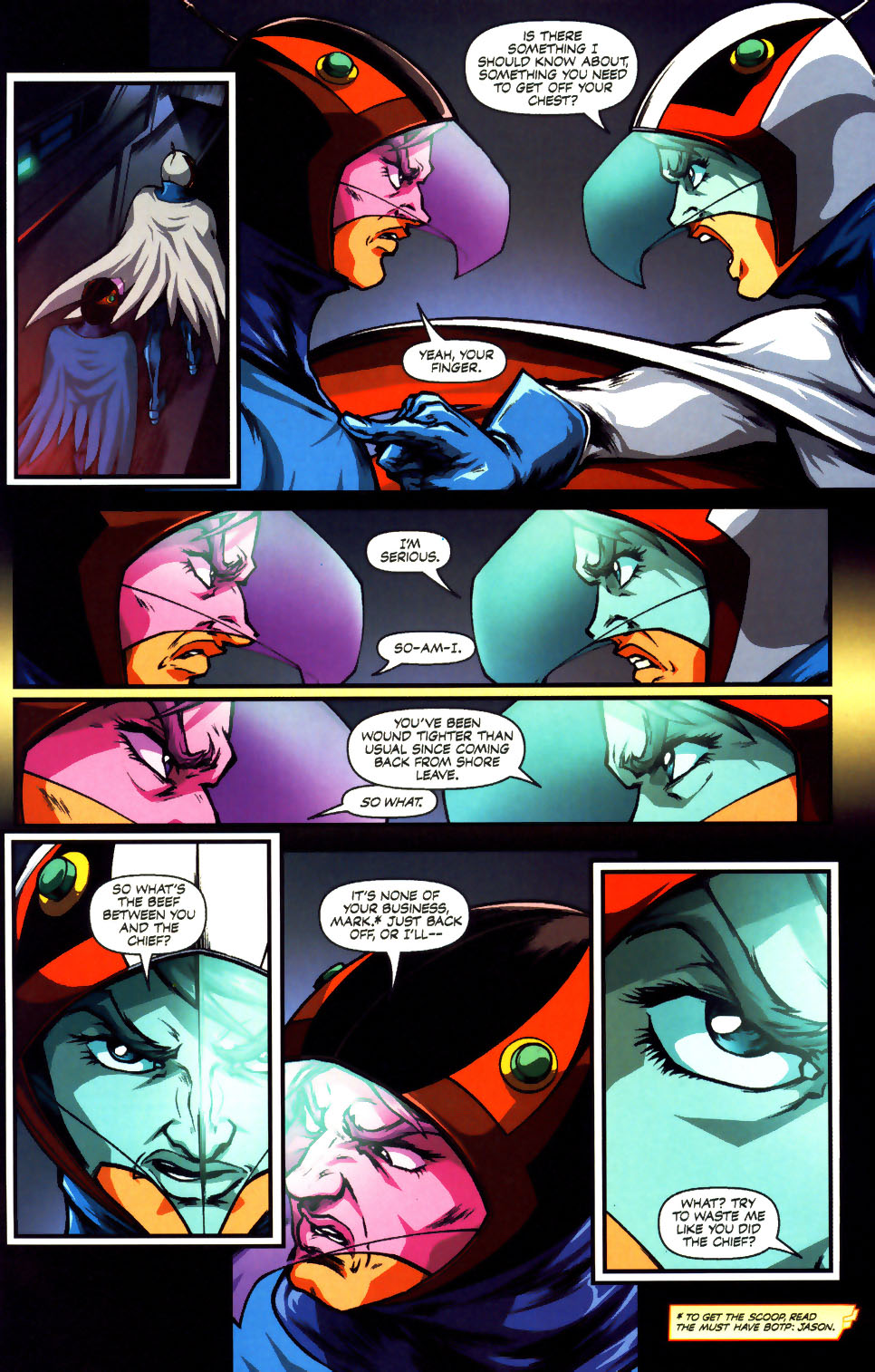 Battle of the Planets Issue #12 #14 - English 20