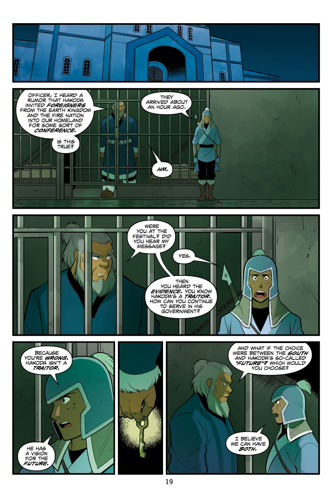 Nickelodeon Avatar: The Last Airbender - North and South issue 3 - Page 20