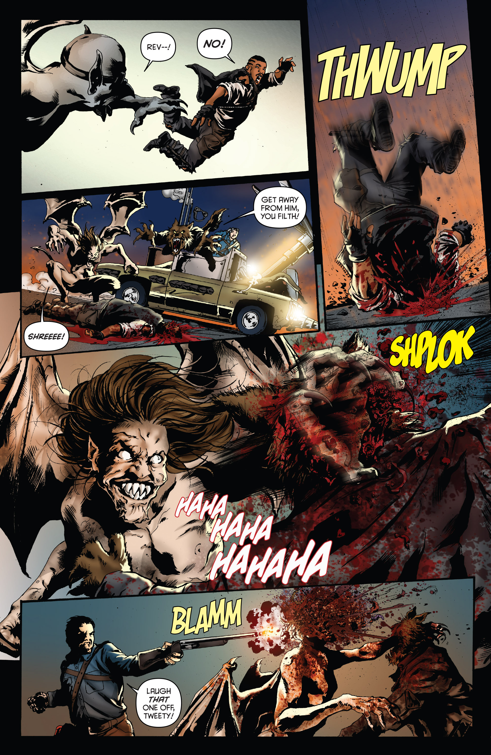 Read online Army of Darkness: Furious Road comic -  Issue #4 - 9